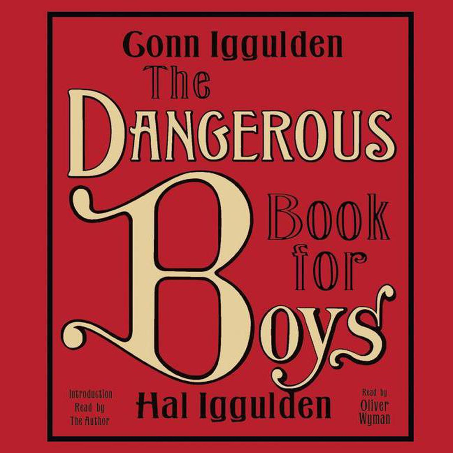 Printable The Dangerous Book for Boys Audiobook Cover Art