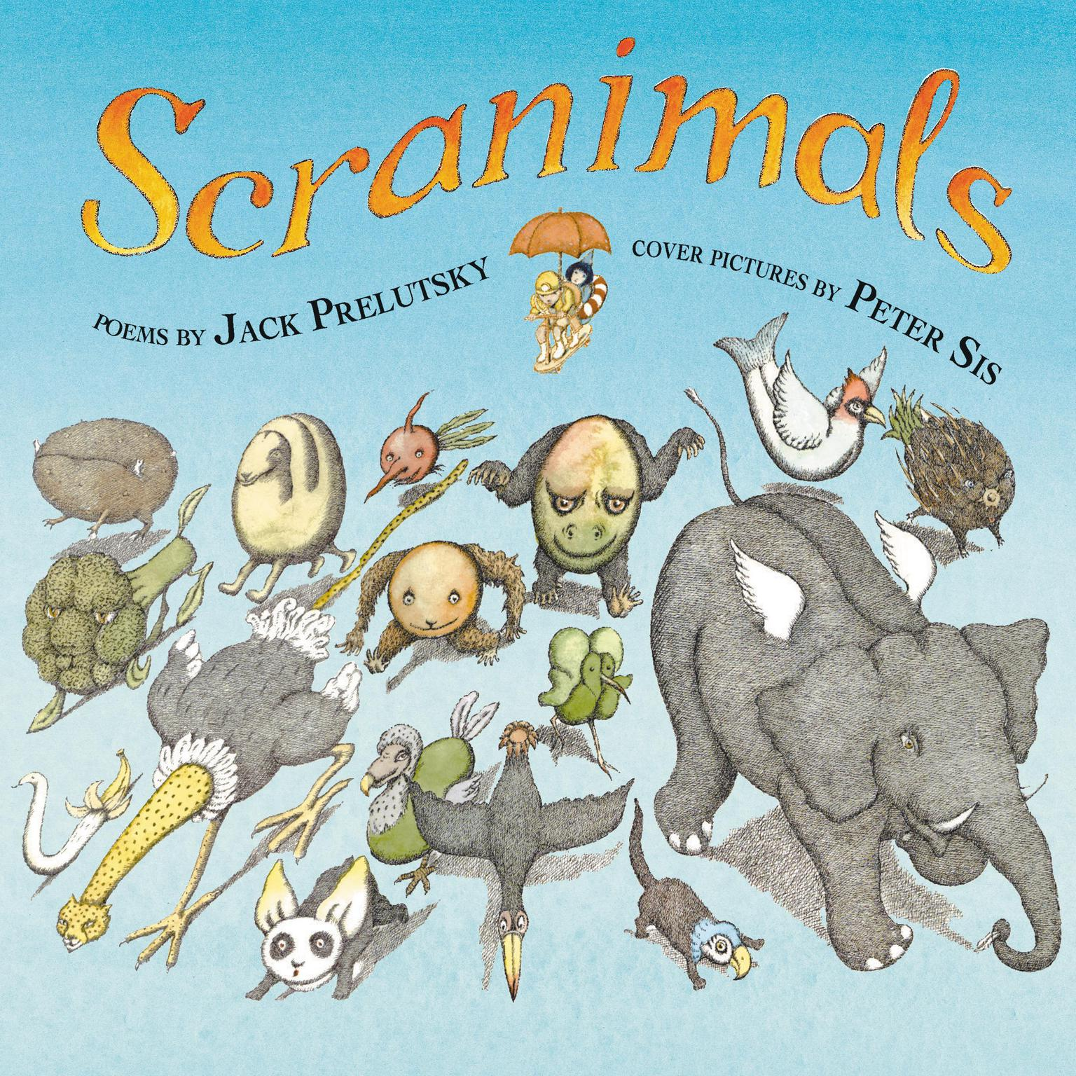Printable Scranimals Audiobook Cover Art