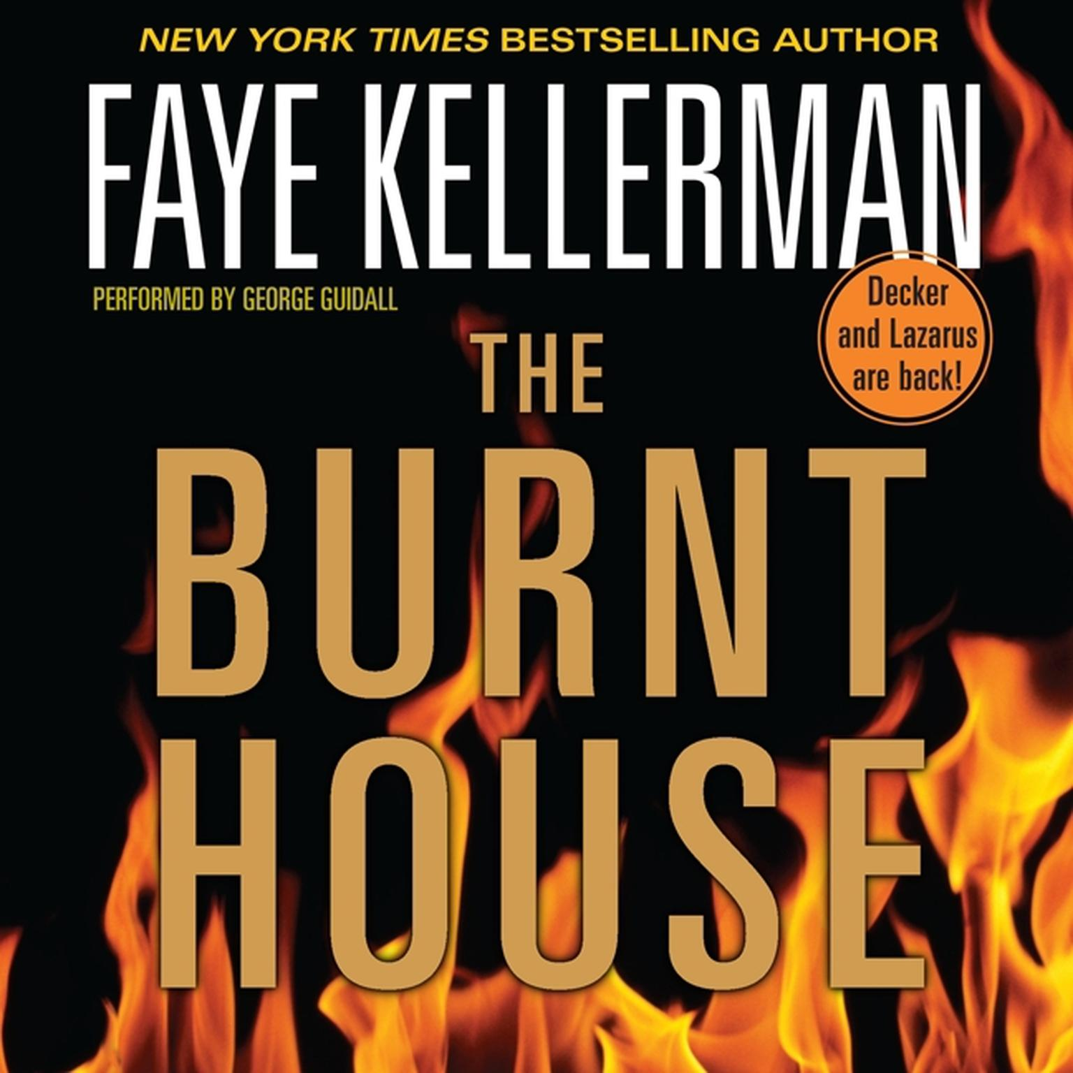 Printable The Burnt House Audiobook Cover Art