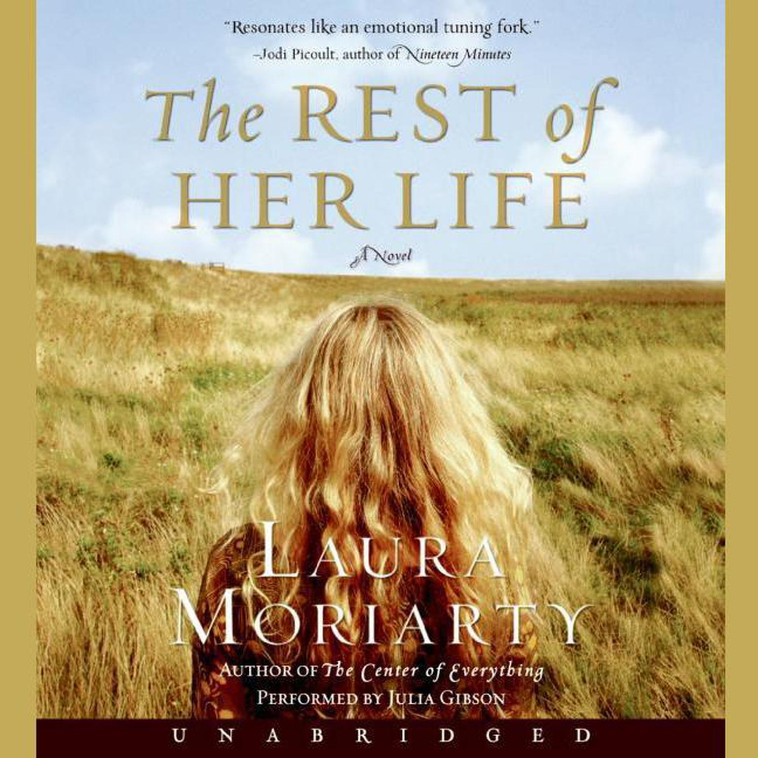 Printable The Rest of Her Life Audiobook Cover Art