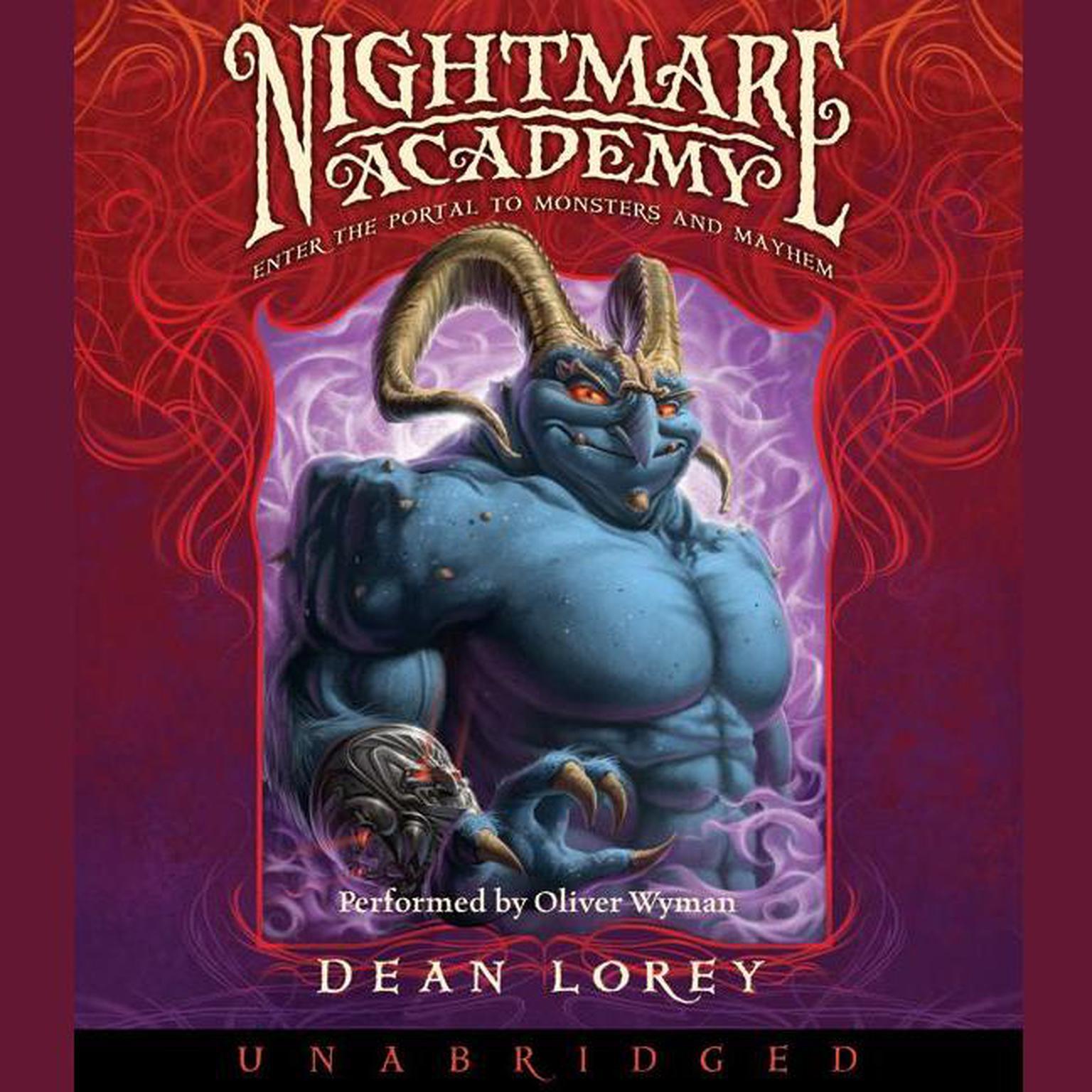 Printable Nightmare Academy Audiobook Cover Art