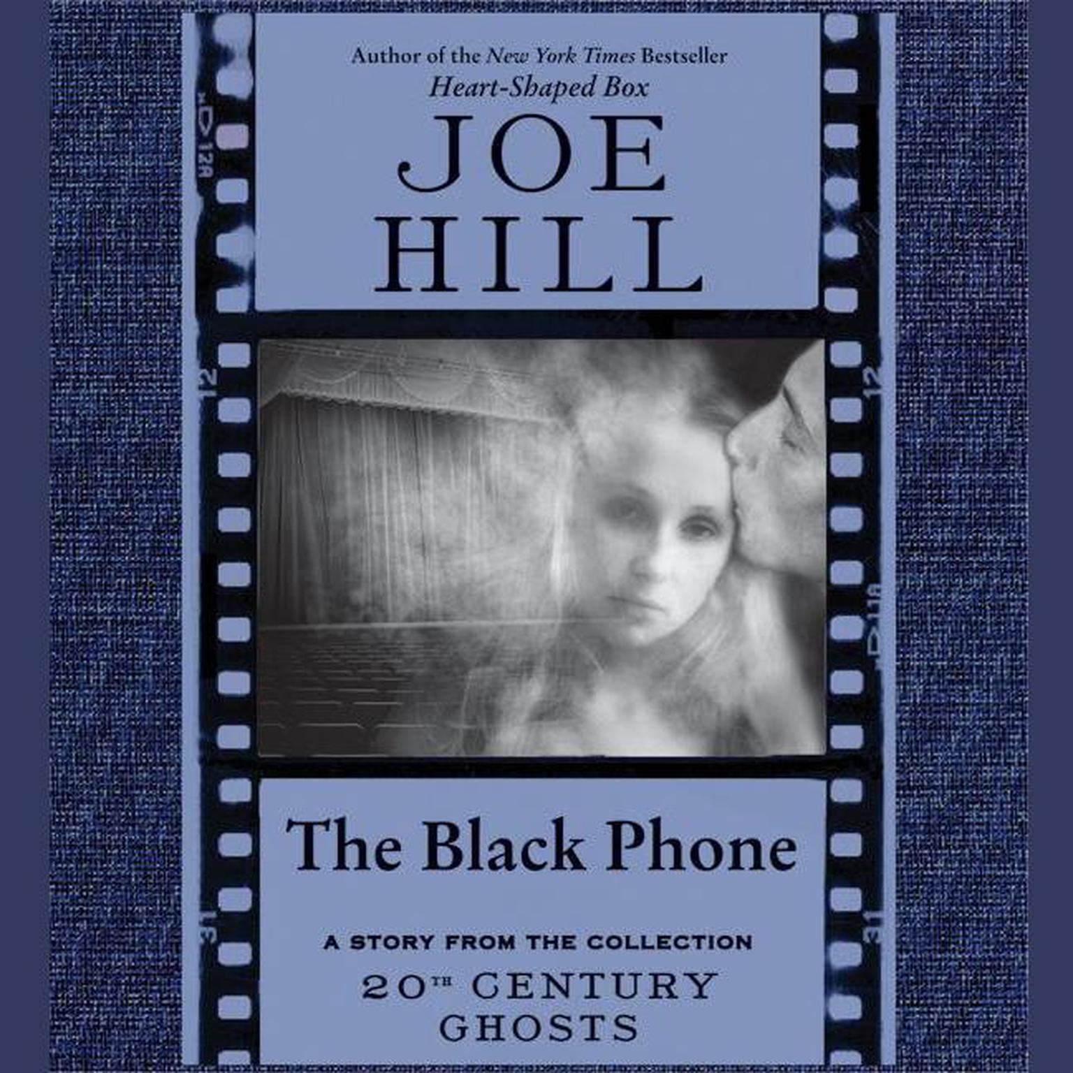 Printable The Black Phone Audiobook Cover Art