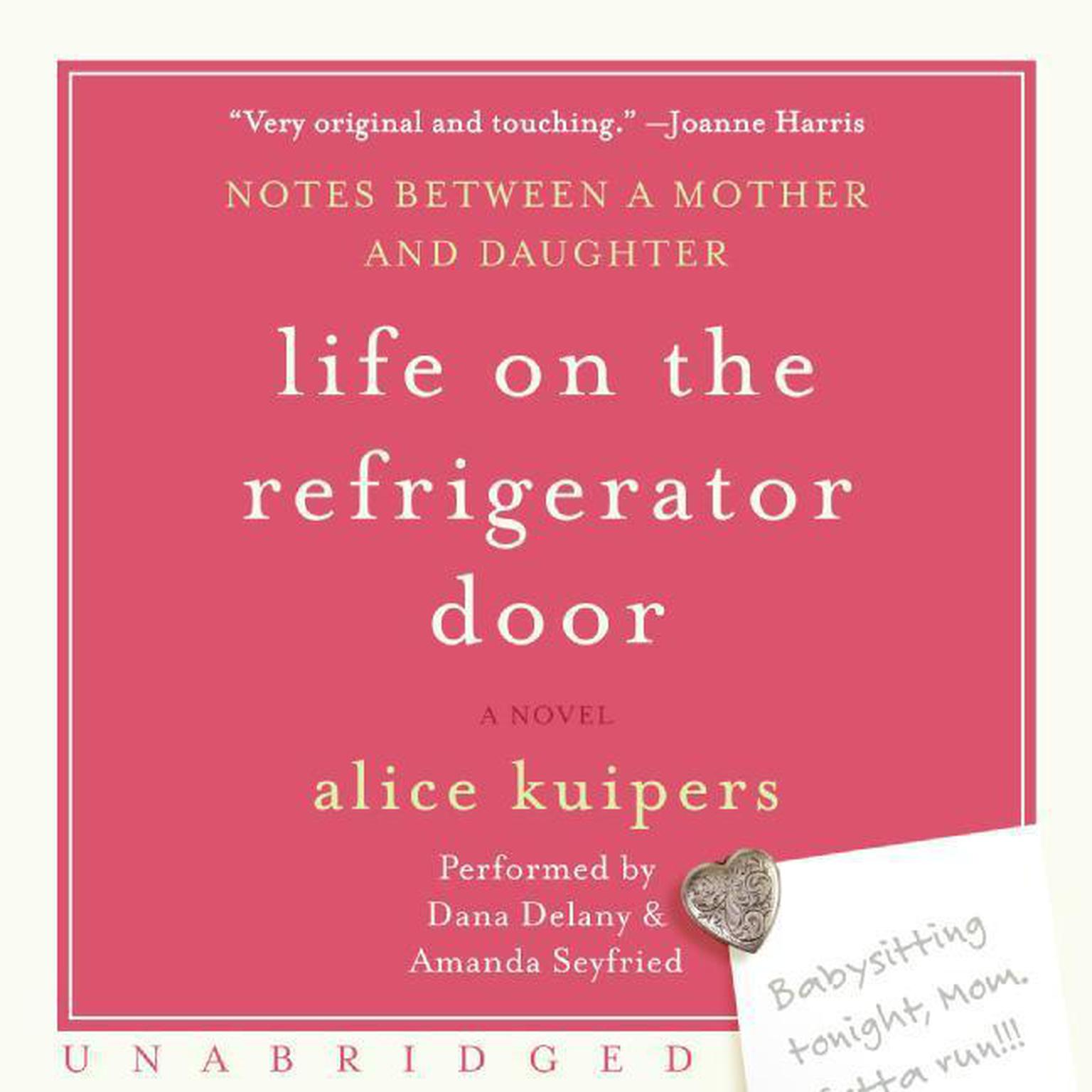 Printable Life on the Refrigerator Door Audiobook Cover Art