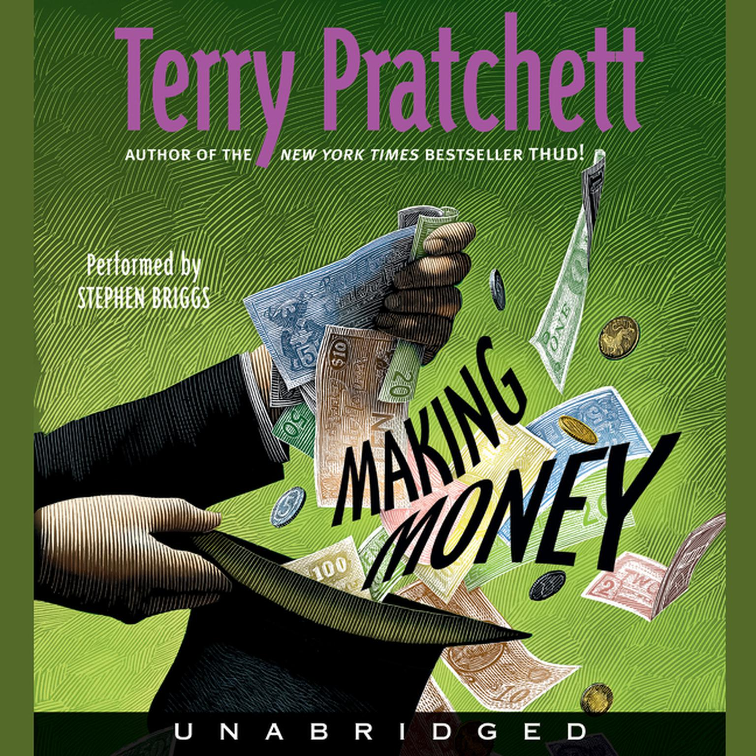 Printable Making Money Audiobook Cover Art