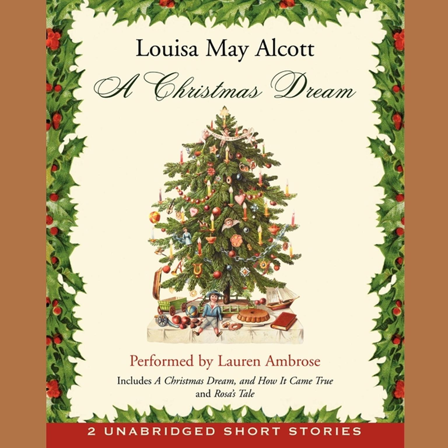 Printable A Christmas Dream Audiobook Cover Art