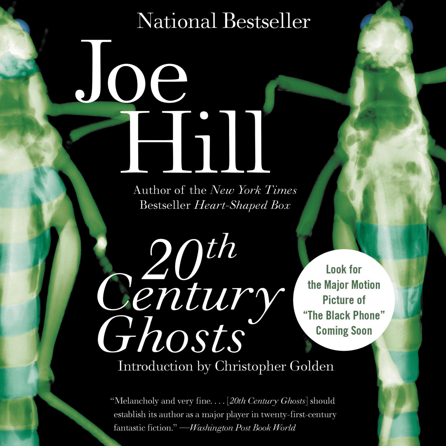 Printable 20th Century Ghosts Audiobook Cover Art