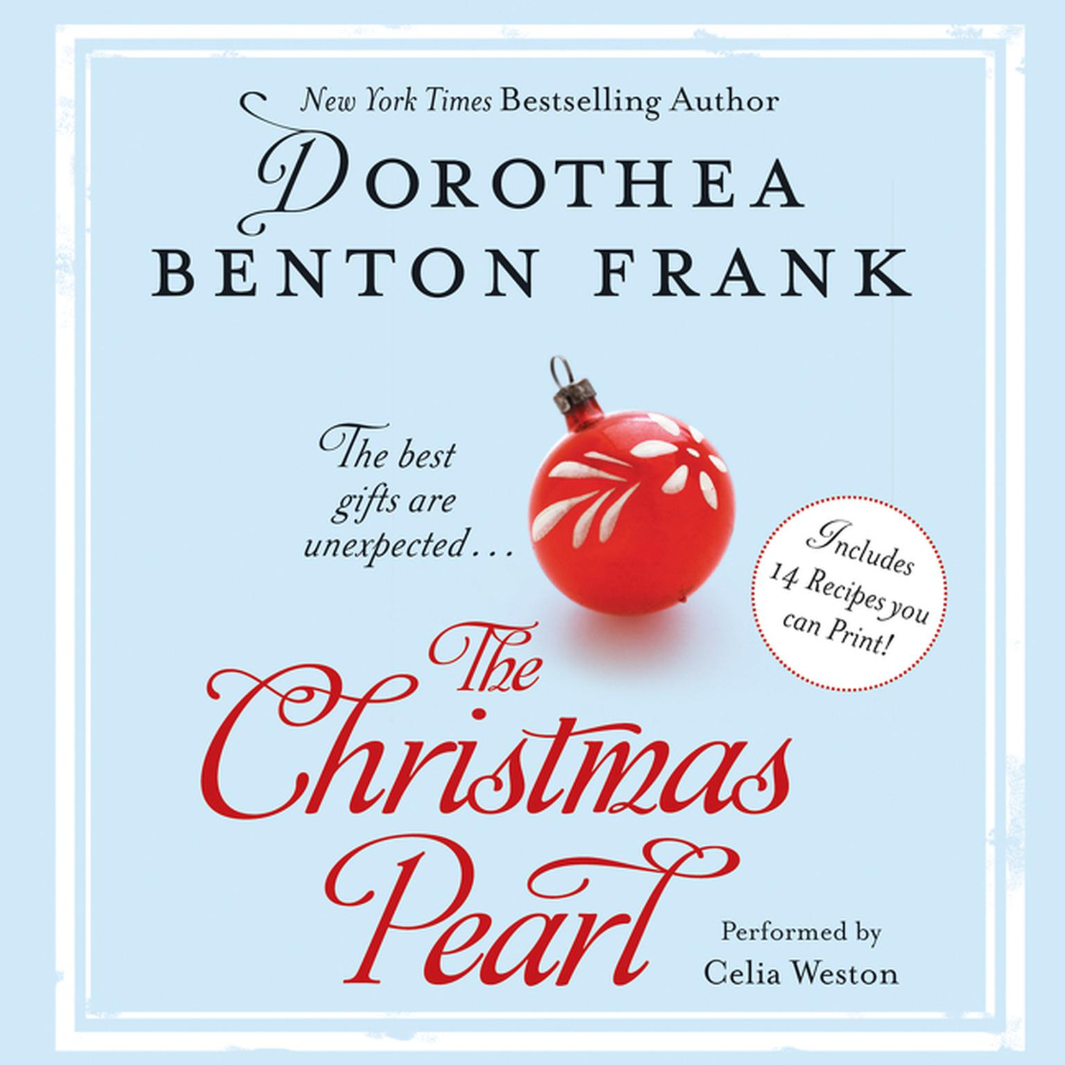 Printable The Christmas Pearl Audiobook Cover Art