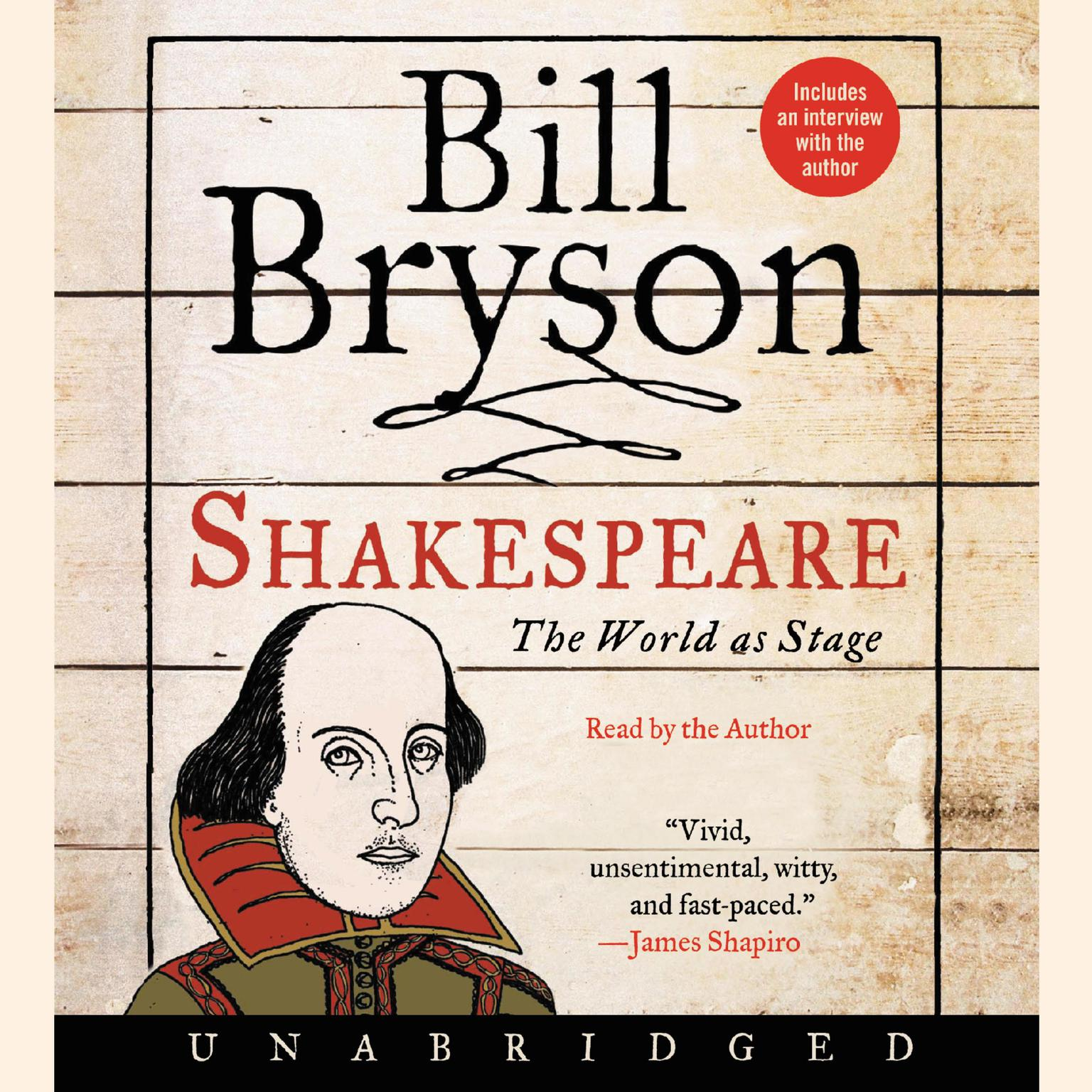 Printable Shakespeare: The World as Stage Audiobook Cover Art