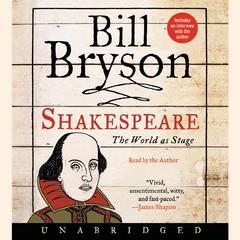 Shakespeare: The World as Stage Audiobook, by Bill Bryson