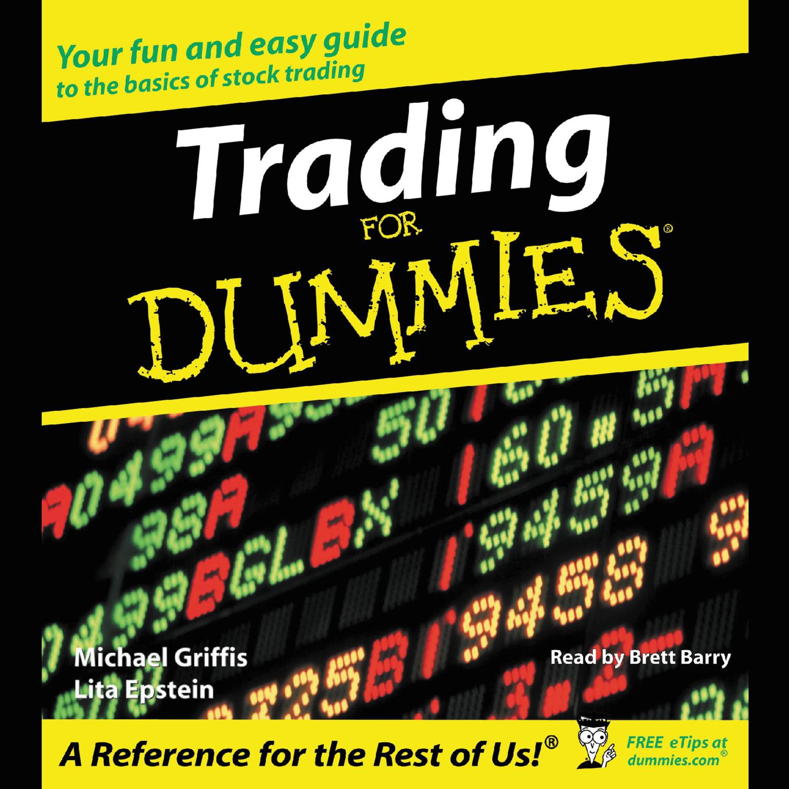 Printable Trading for Dummies Audiobook Cover Art