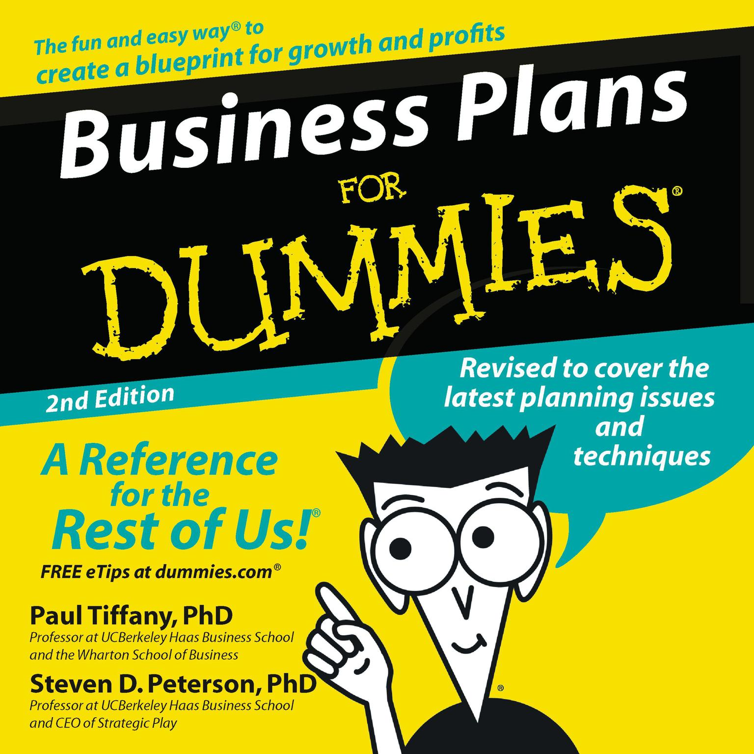 Printable Business Plans for Dummies 2nd Ed. Audiobook Cover Art