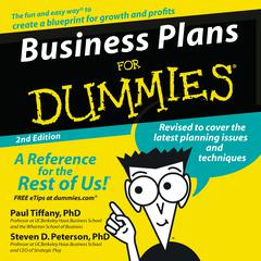 Business Plans for Dummies 2nd Ed. Audiobook, by Paul Tiffany, Steven Peterson