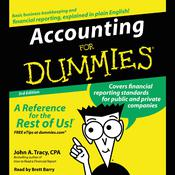 Accounting for Dummies, 3rd Edition Audiobook, by John A. Tracy