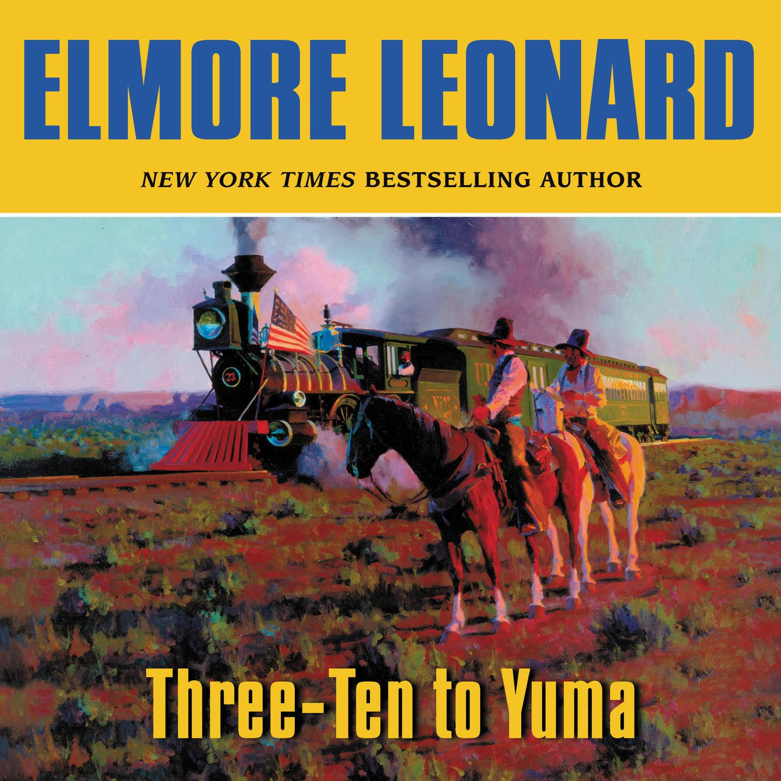 Printable Three-Ten to Yuma Audiobook Cover Art