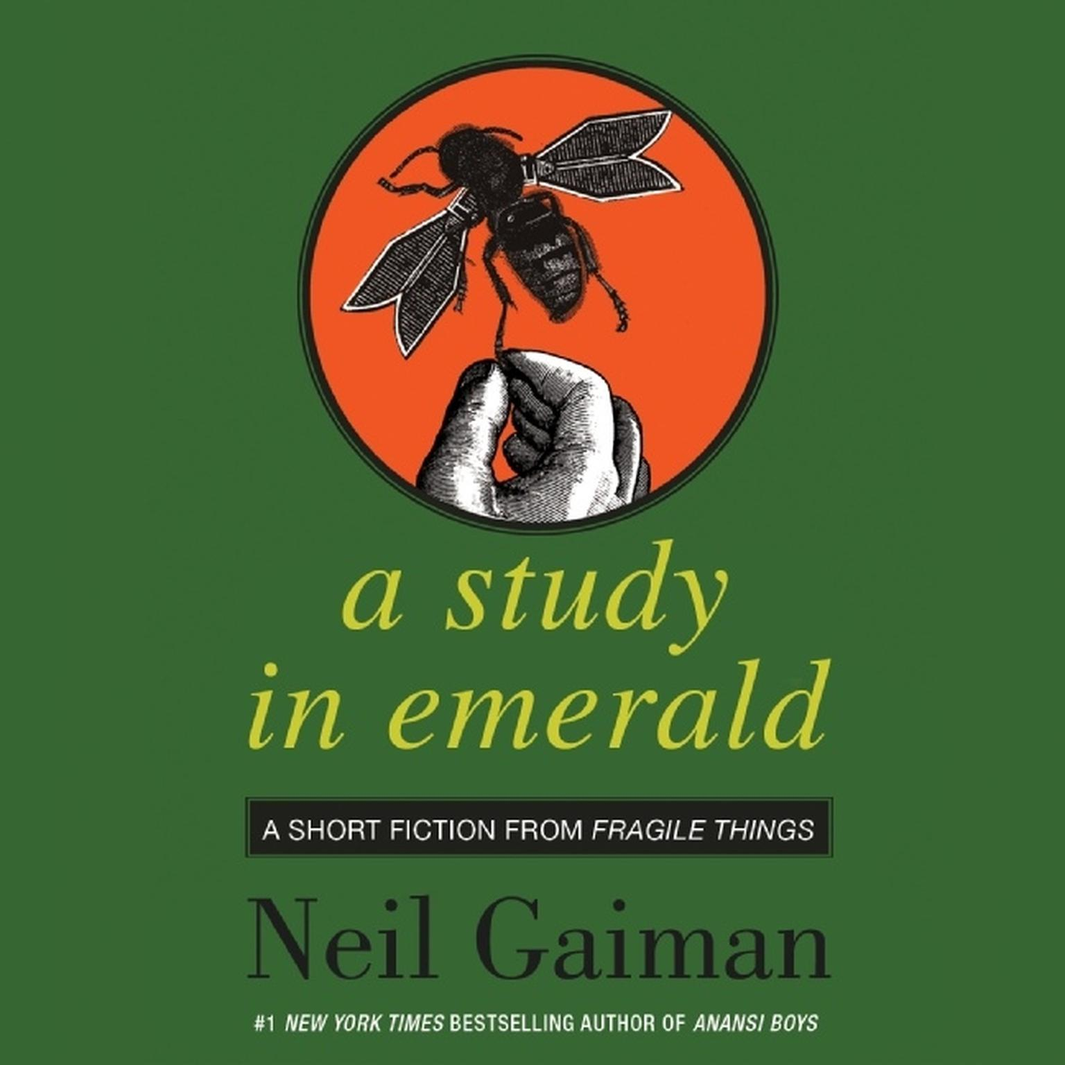 Printable A Study in Emerald Audiobook Cover Art
