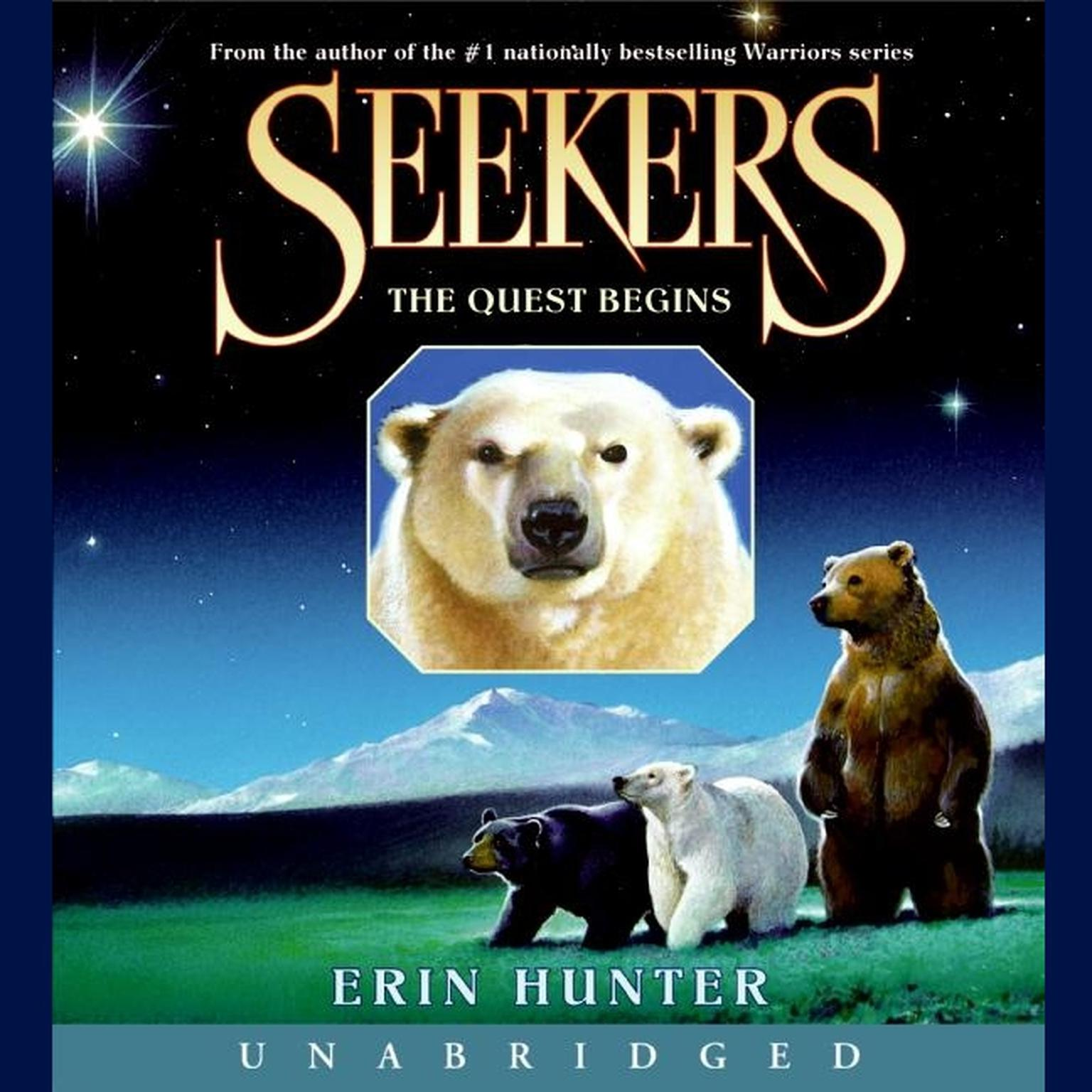 Printable Seekers #1: The Quest Begins Audiobook Cover Art