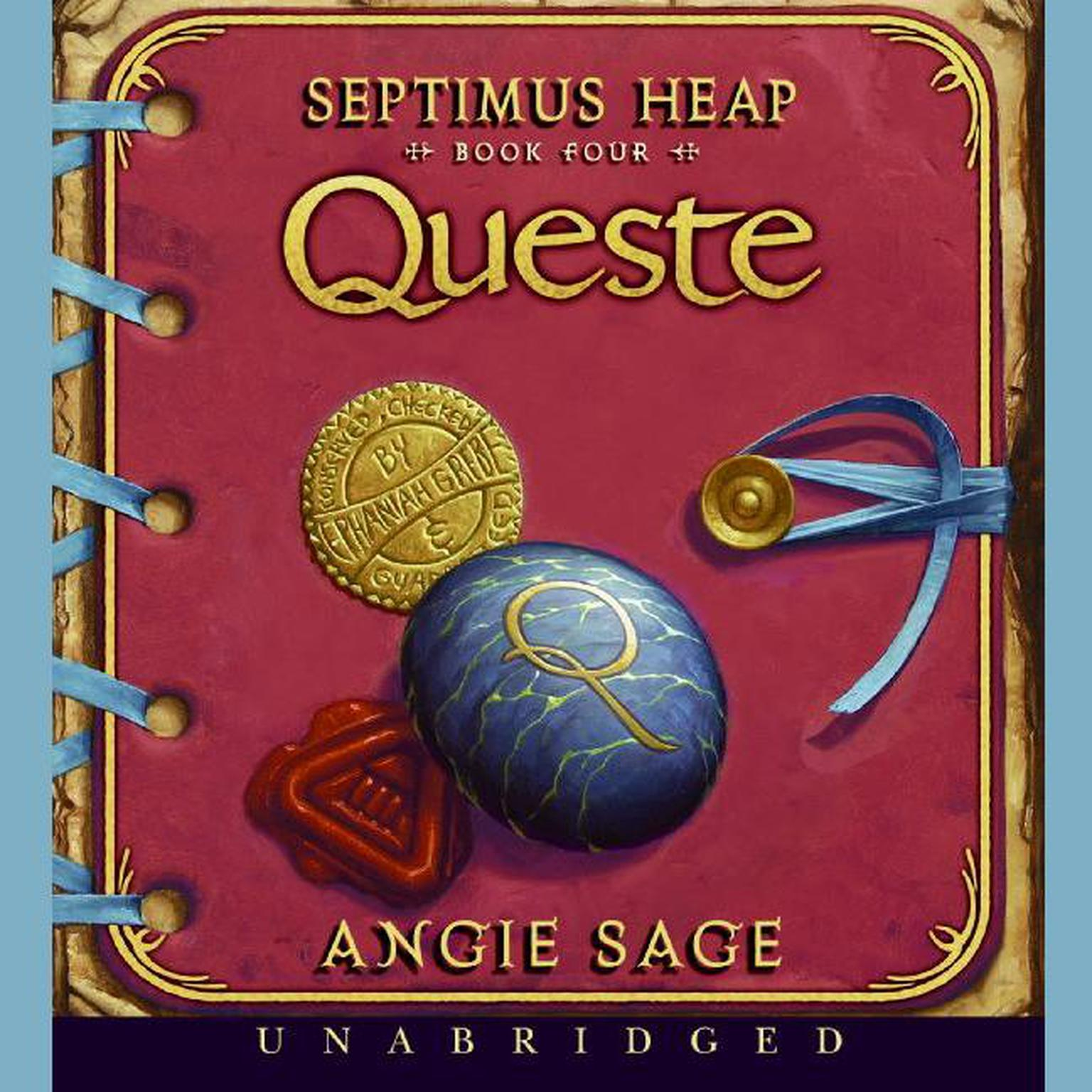 Printable Queste Audiobook Cover Art