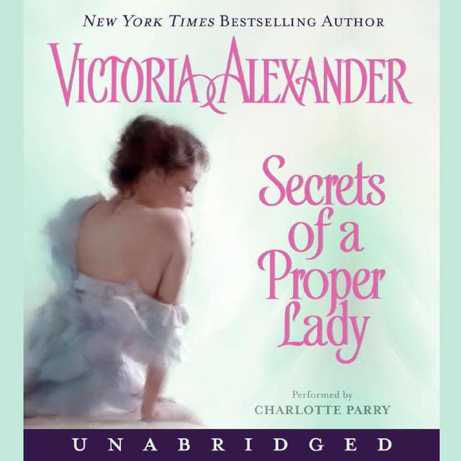 Printable Secrets of a Proper Lady Audiobook Cover Art