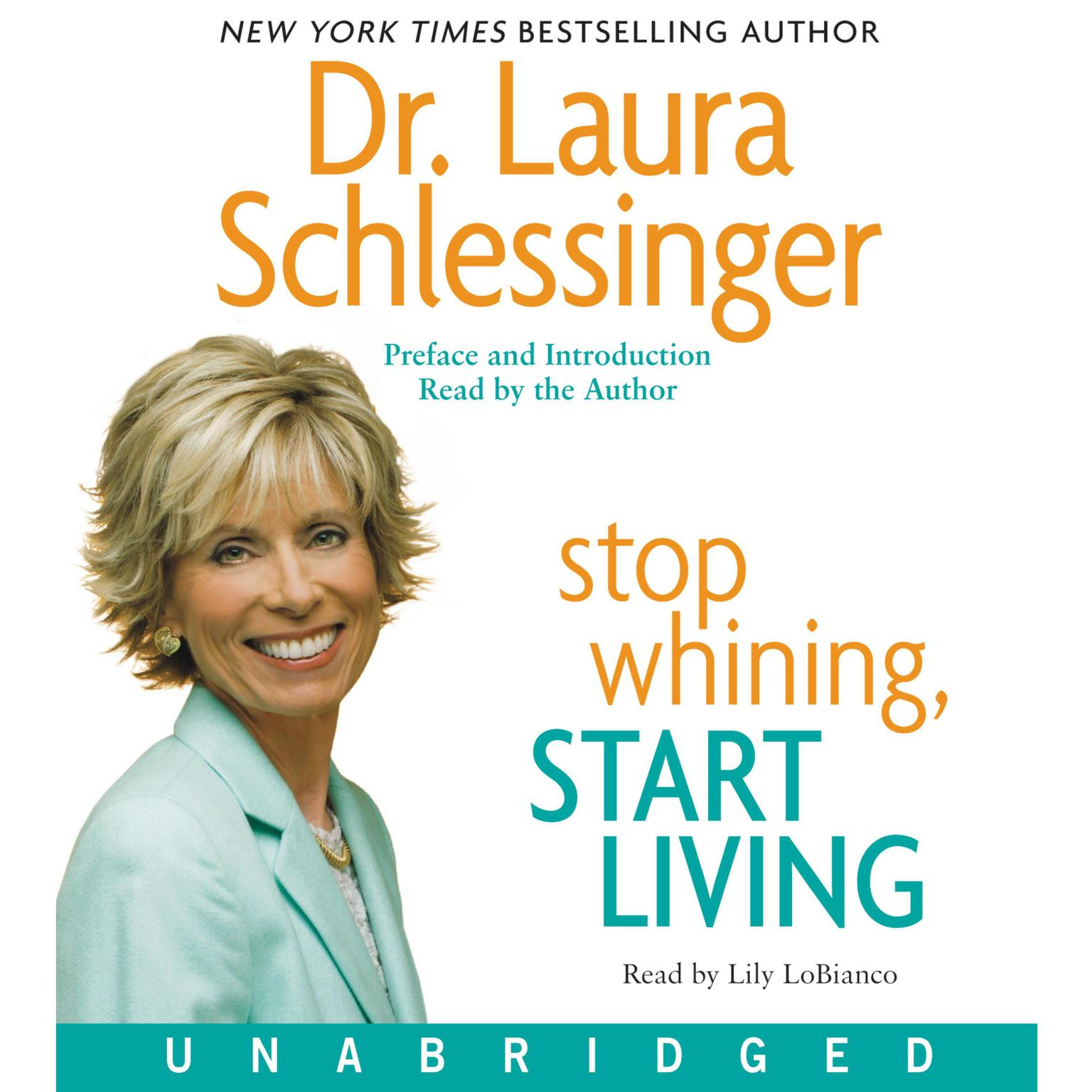 Printable Stop Whining, Start Living Audiobook Cover Art