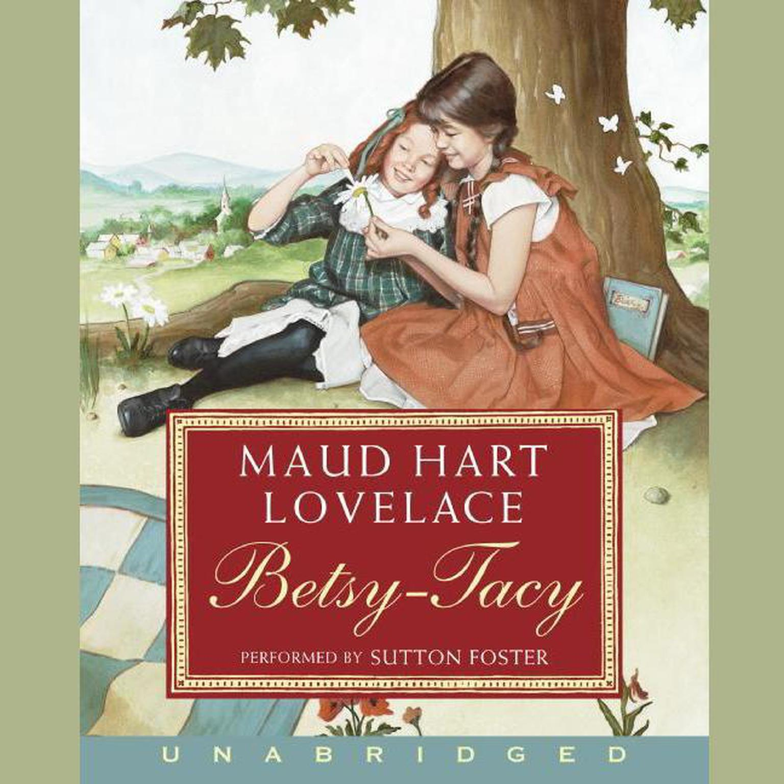 Printable Betsy-Tacy Audiobook Cover Art