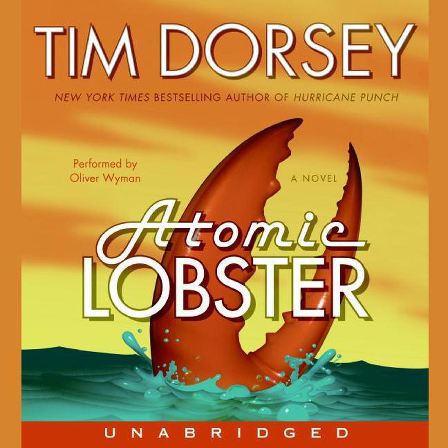 Printable Atomic Lobster: A Novel Audiobook Cover Art