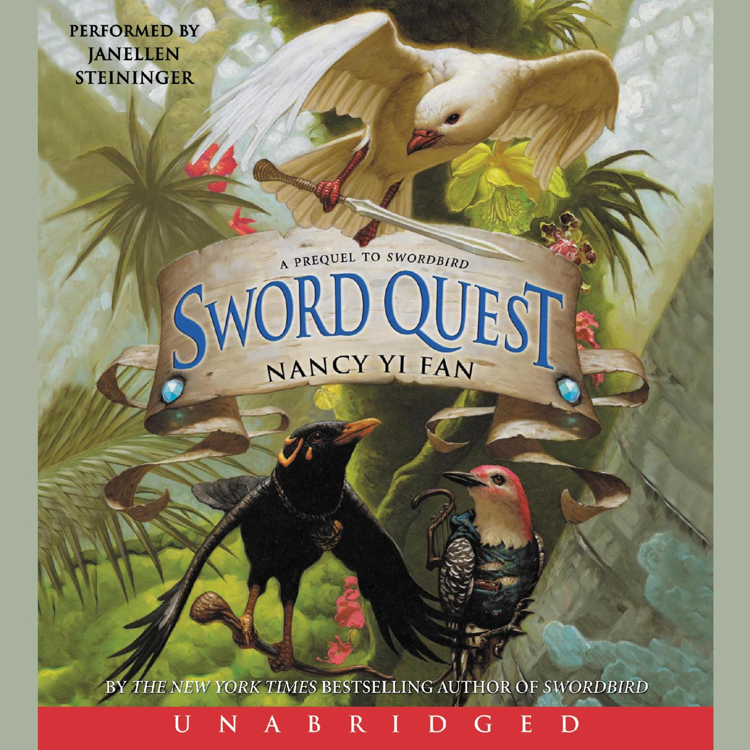 Printable Sword Quest Audiobook Cover Art