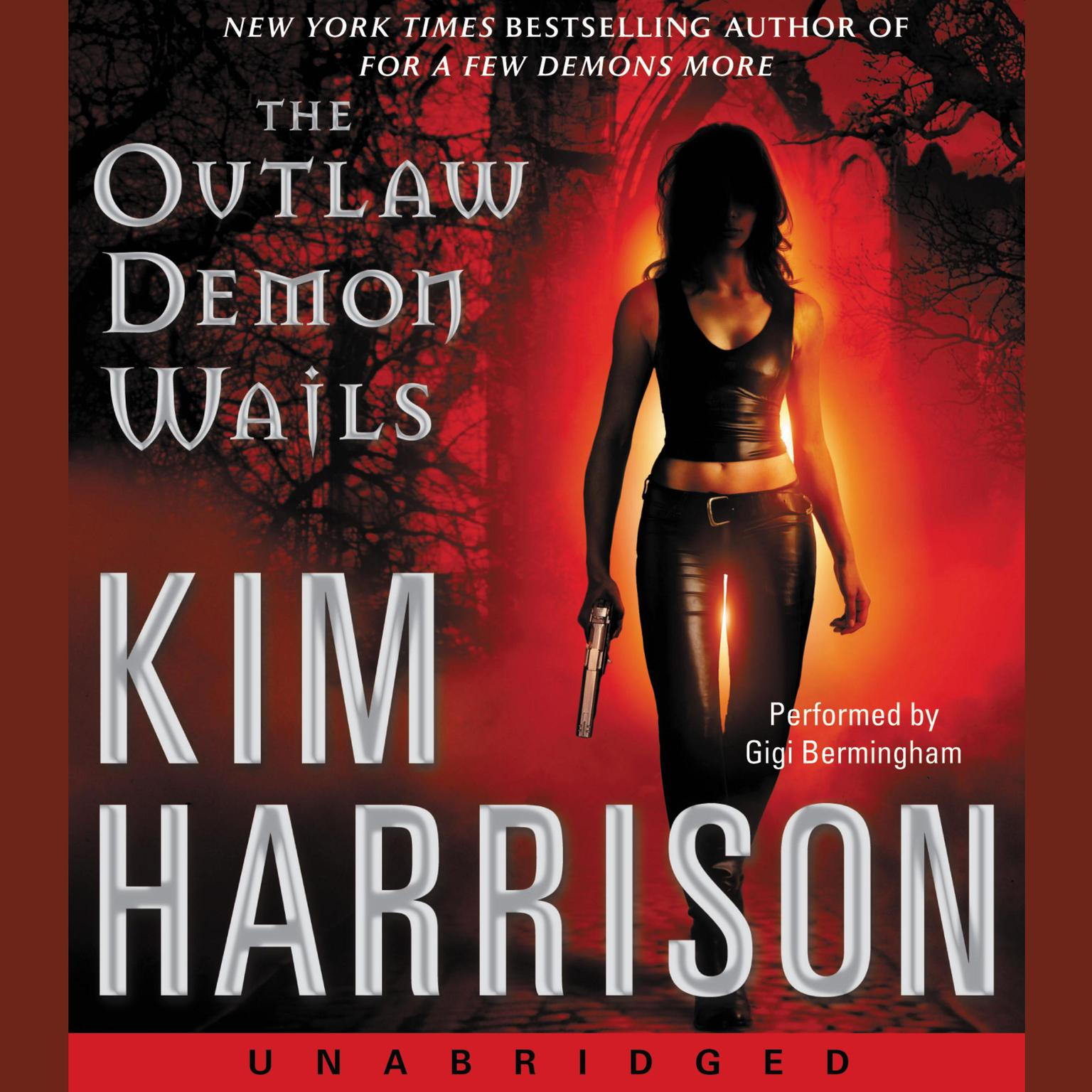 Printable The Outlaw Demon Wails Audiobook Cover Art