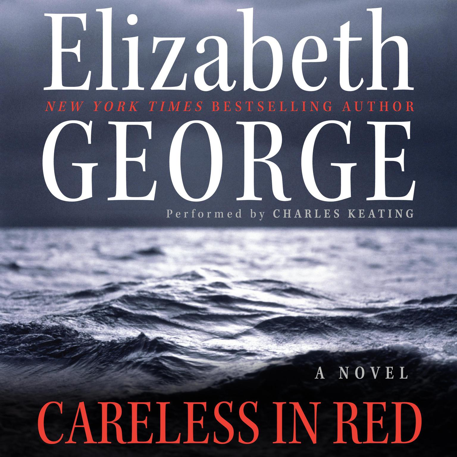 Printable Careless in Red Audiobook Cover Art