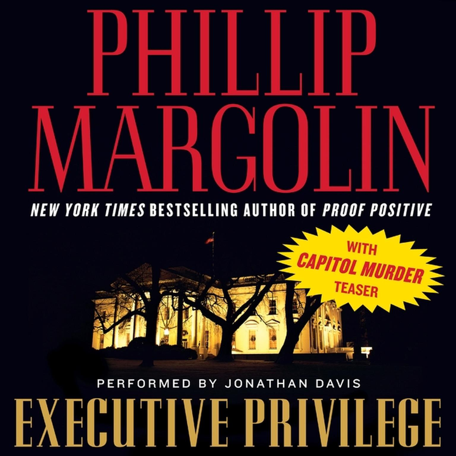 Keat Executive Privilege: Executive Privilege - Audiobook