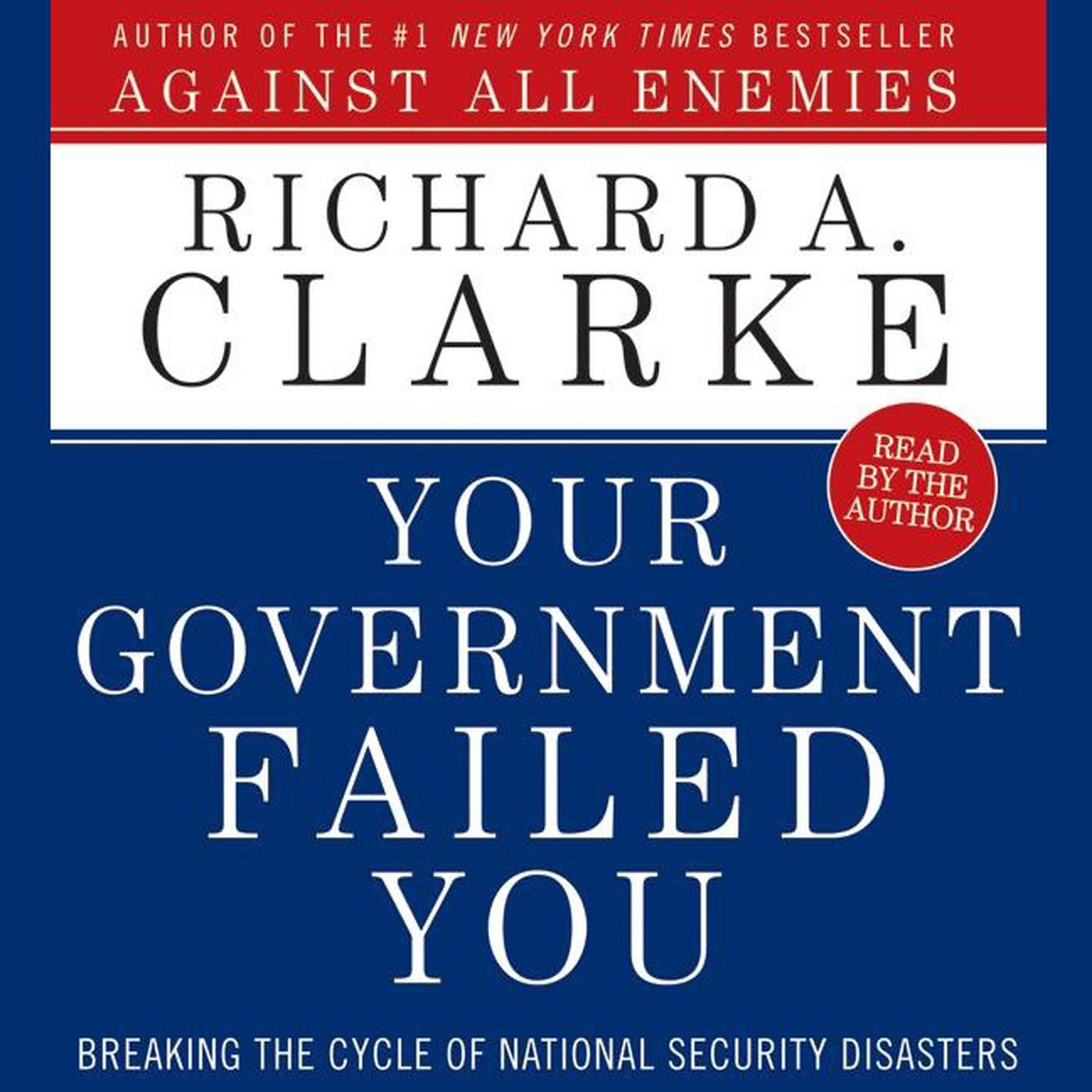 Printable Your Government Failed You Audiobook Cover Art