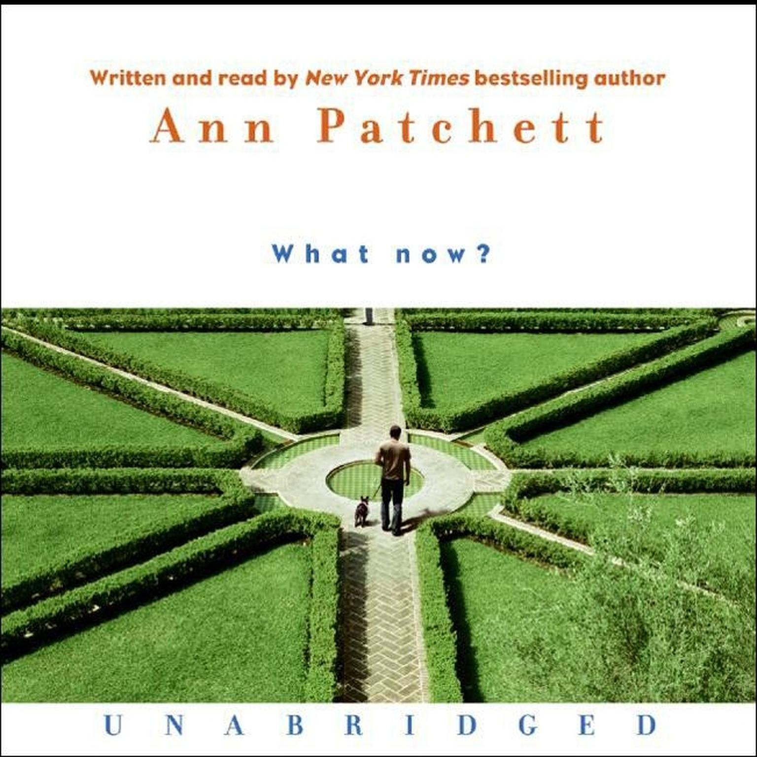 Printable What Now? Audiobook Cover Art