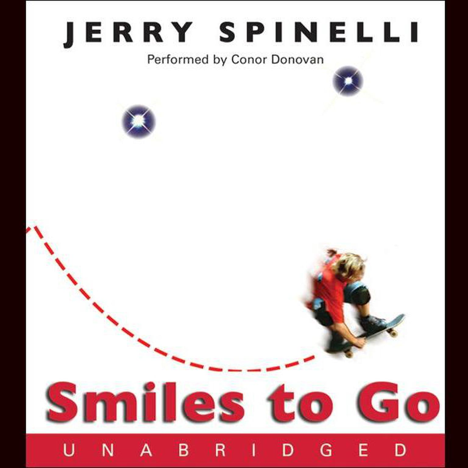 Printable Smiles to Go Audiobook Cover Art