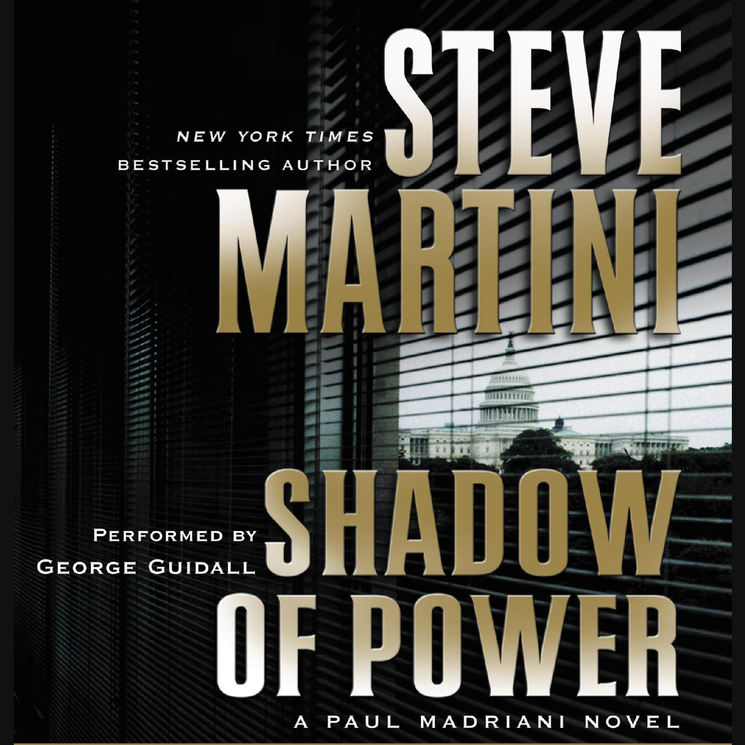 Printable Shadow of Power: A Paul Madriani Novel Audiobook Cover Art