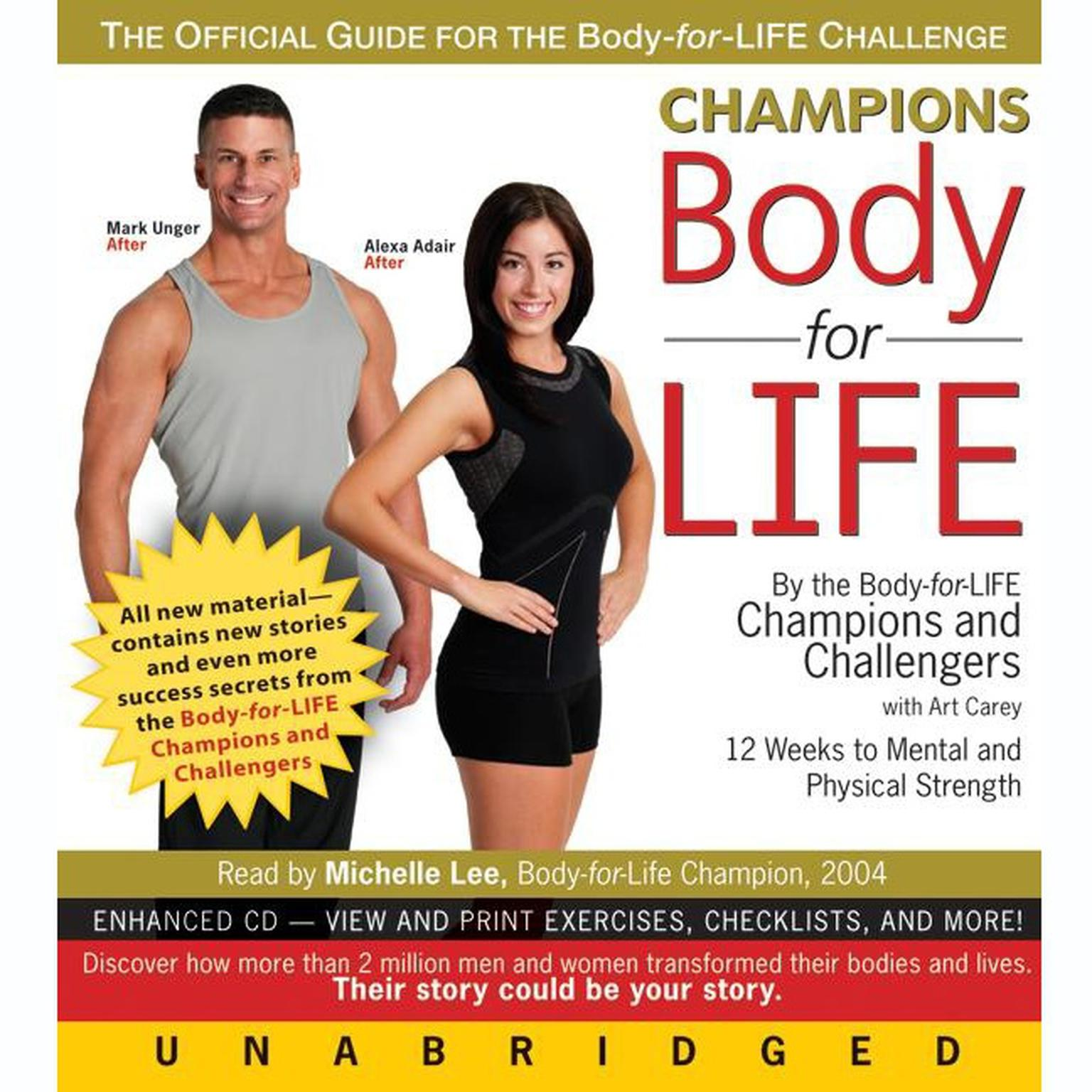 Printable Champions Body-for-Life Audiobook Cover Art