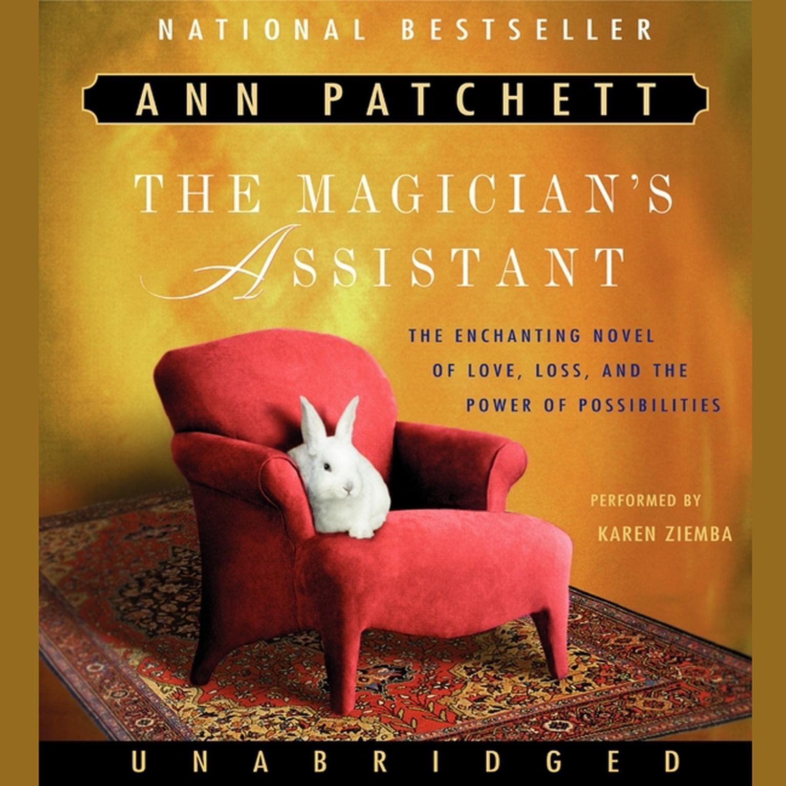 Printable The Magician's Assistant Audiobook Cover Art