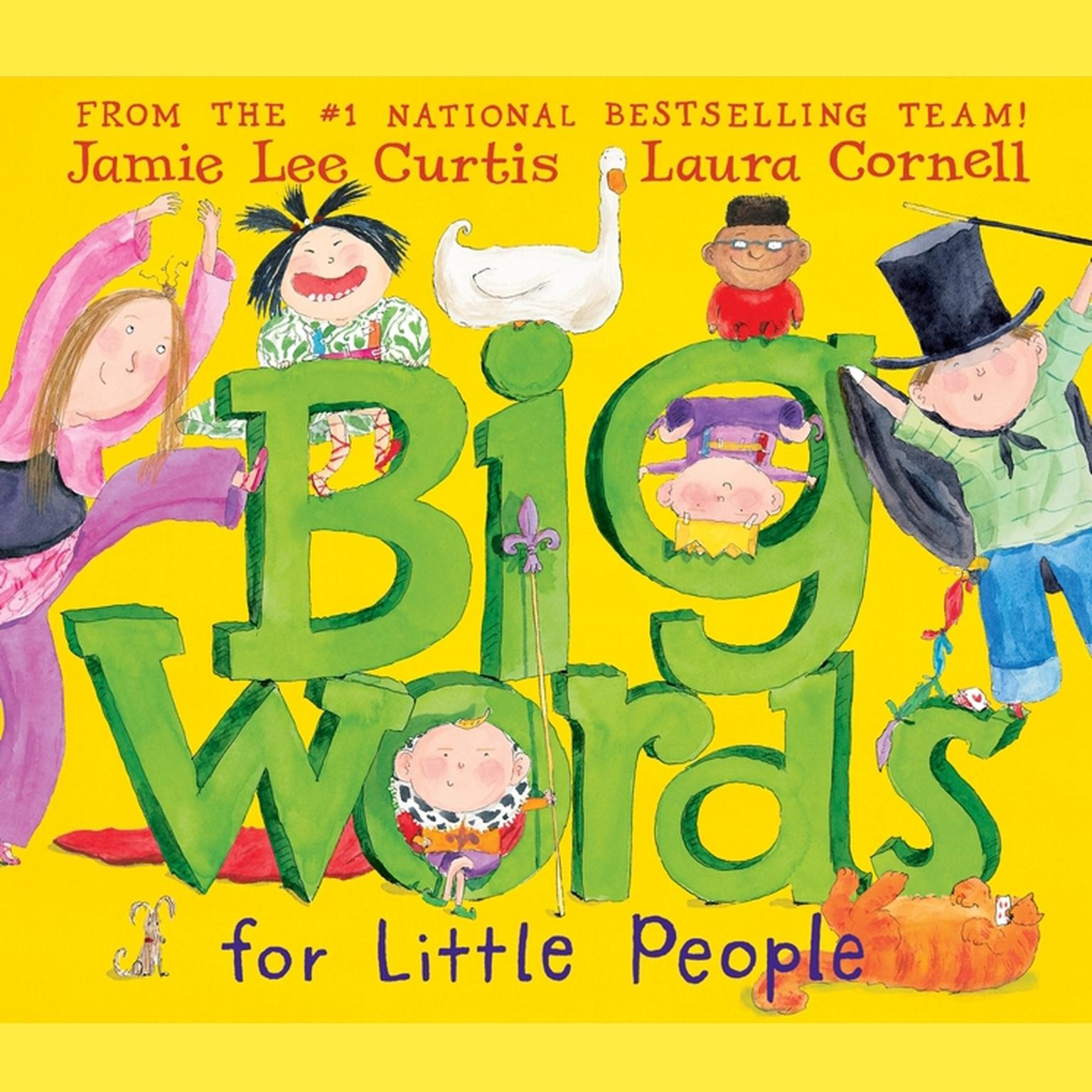 Printable Big Words for Little People Audiobook Cover Art