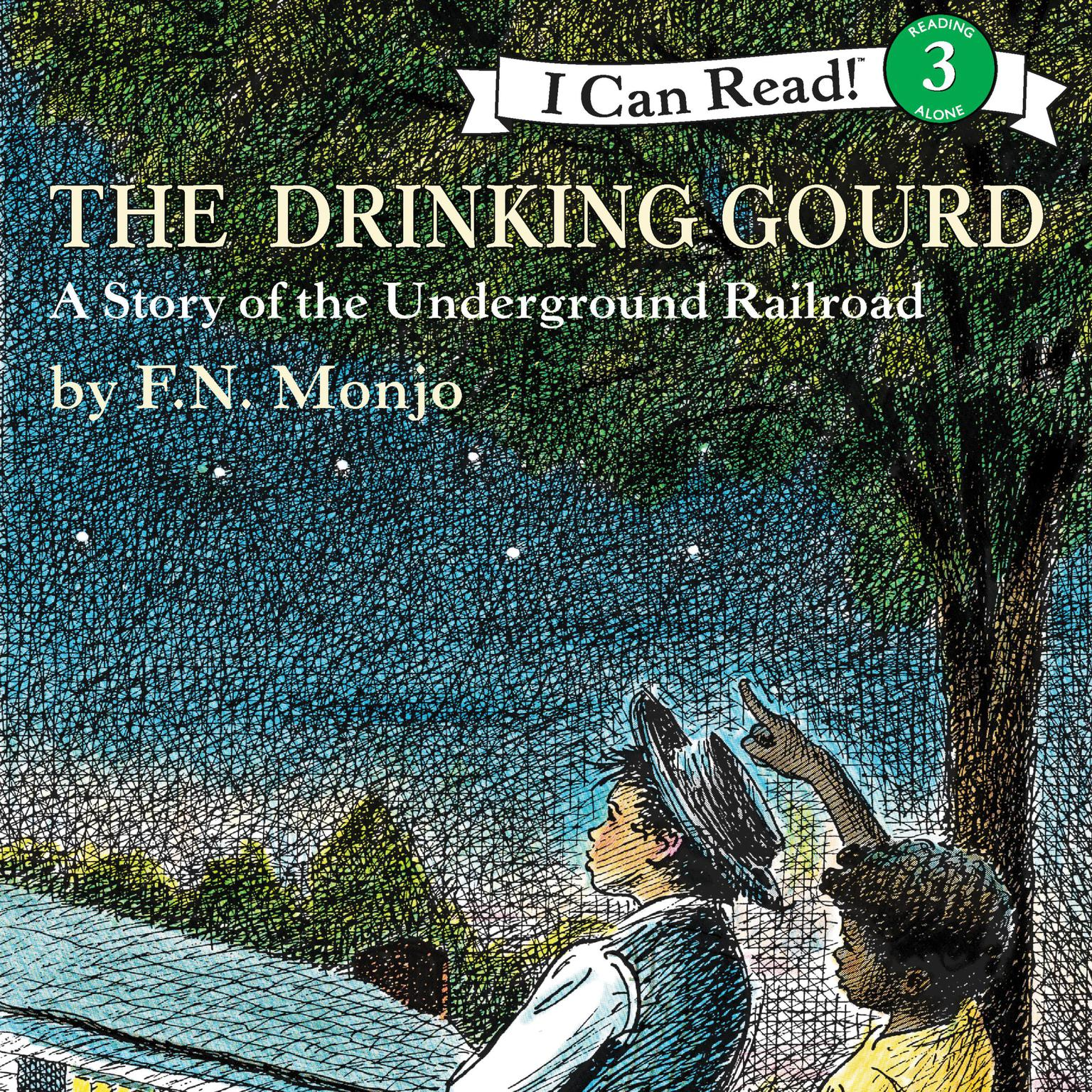 Printable The Drinking Gourd Audiobook Cover Art