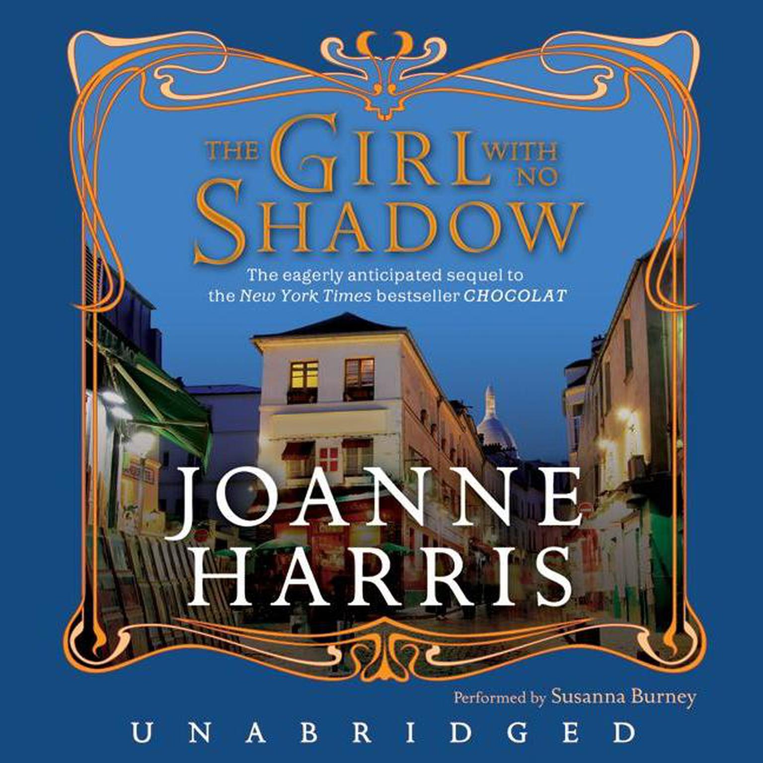 Printable The Girl with No Shadow Audiobook Cover Art