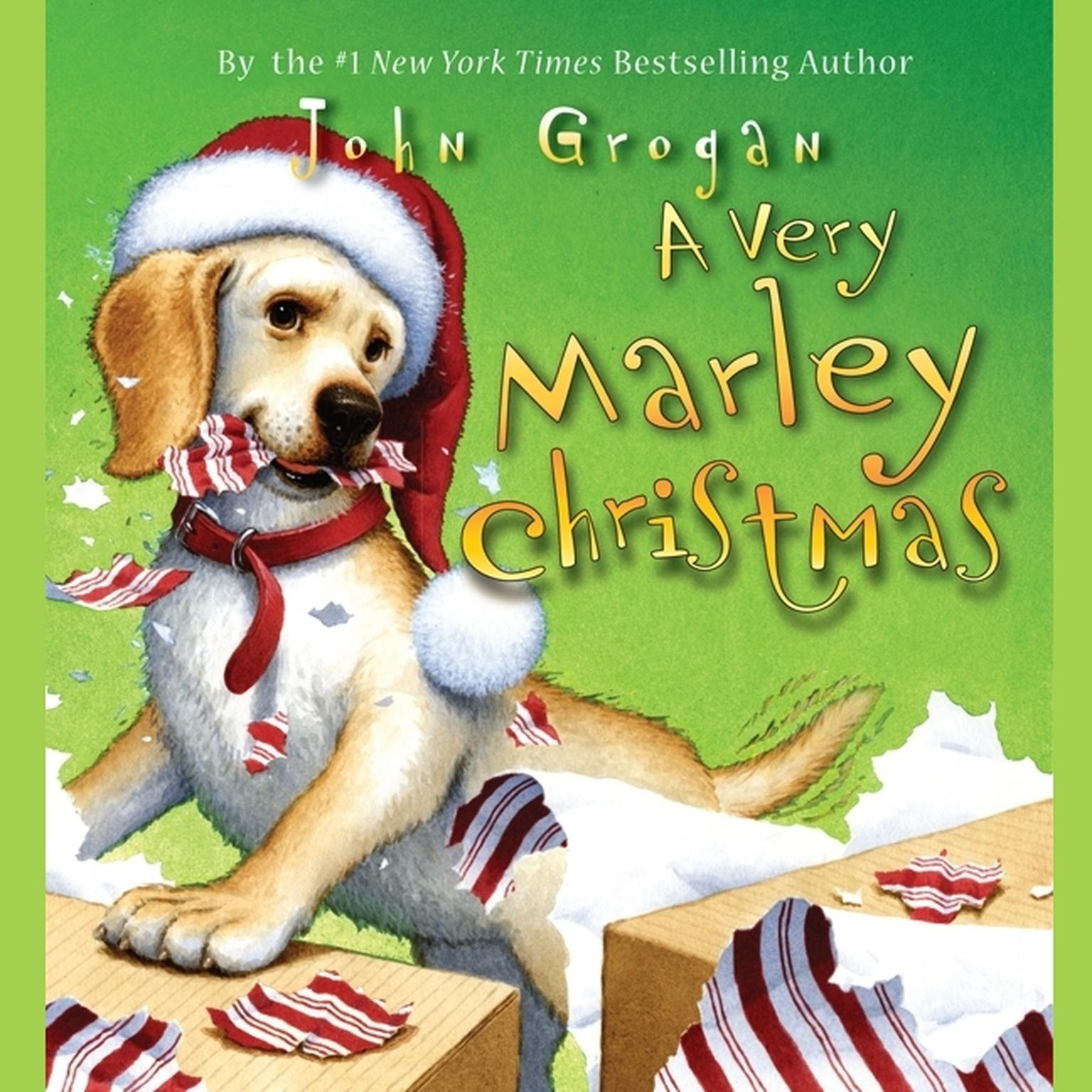 Printable A Very Marley Christmas Audiobook Cover Art