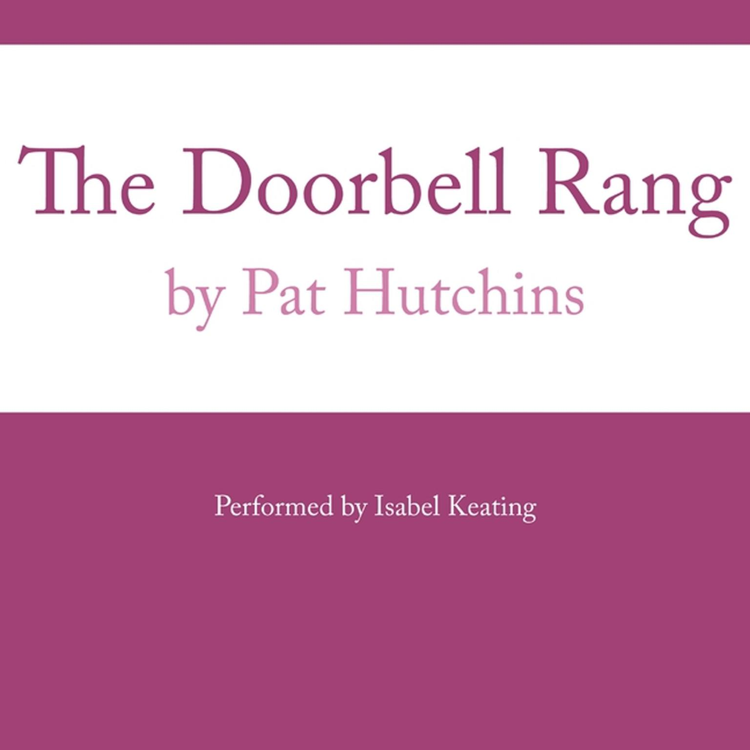 Printable The Doorbell Rang Audiobook Cover Art