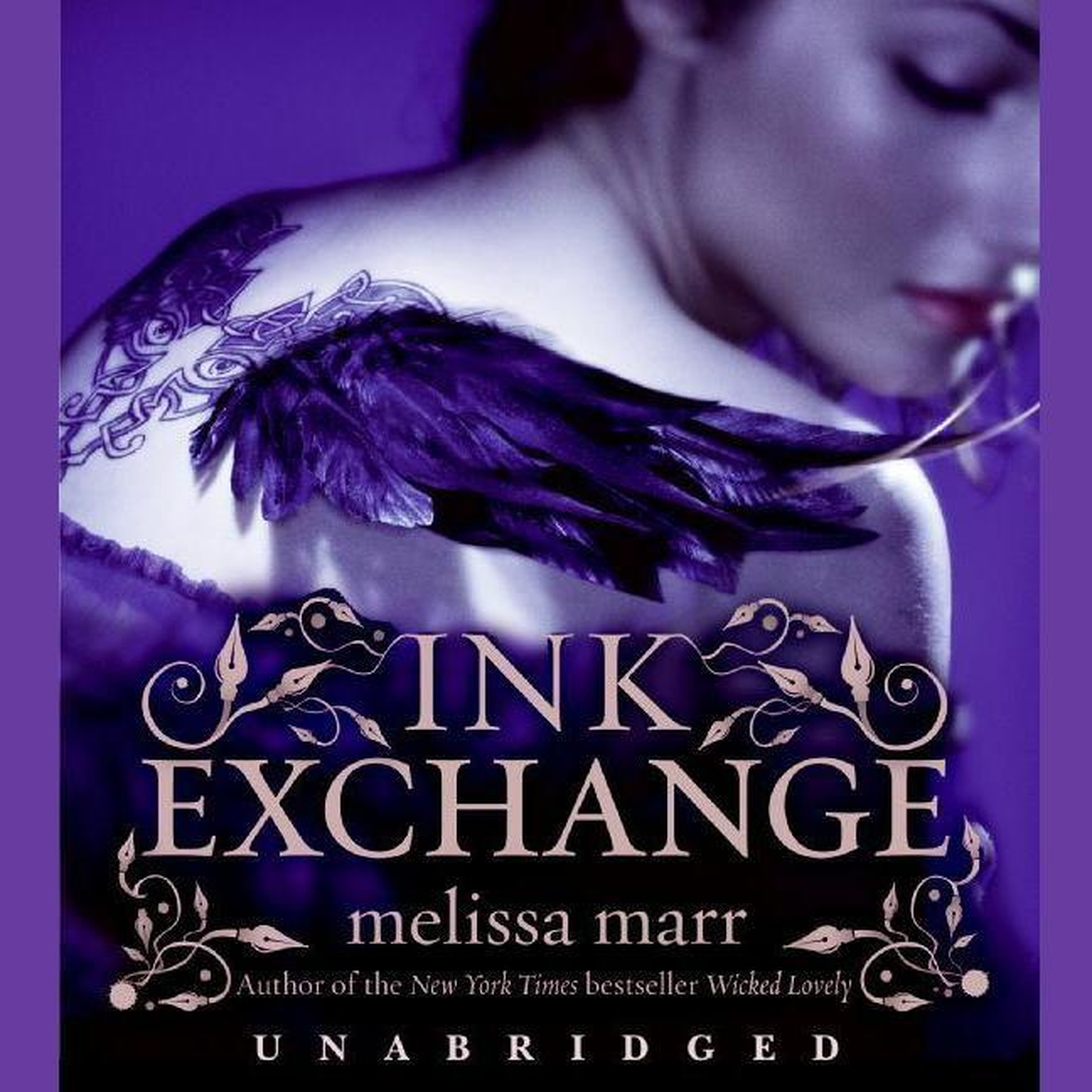 Printable Ink Exchange Audiobook Cover Art
