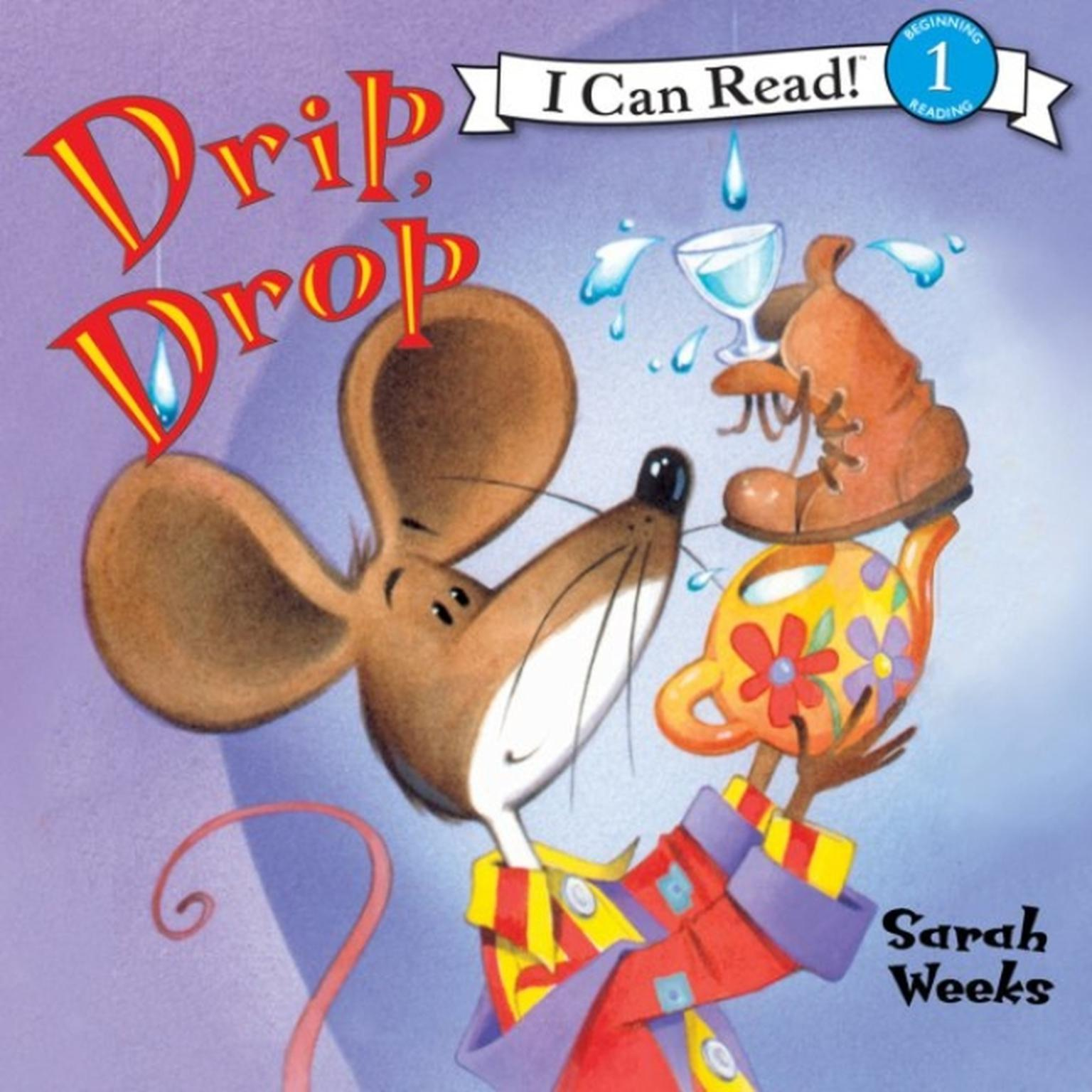 Printable Drip, Drop Audiobook Cover Art