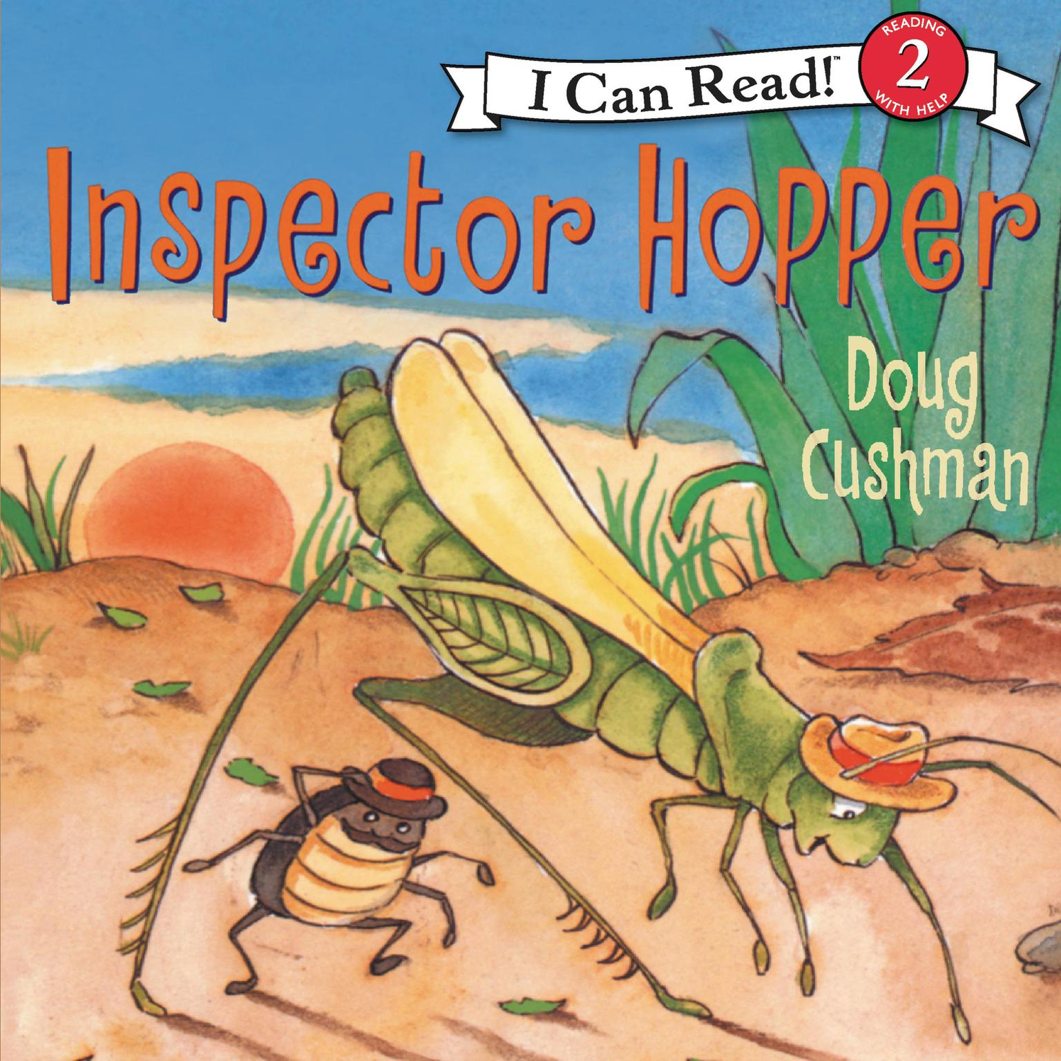 Printable Inspector Hopper Audiobook Cover Art