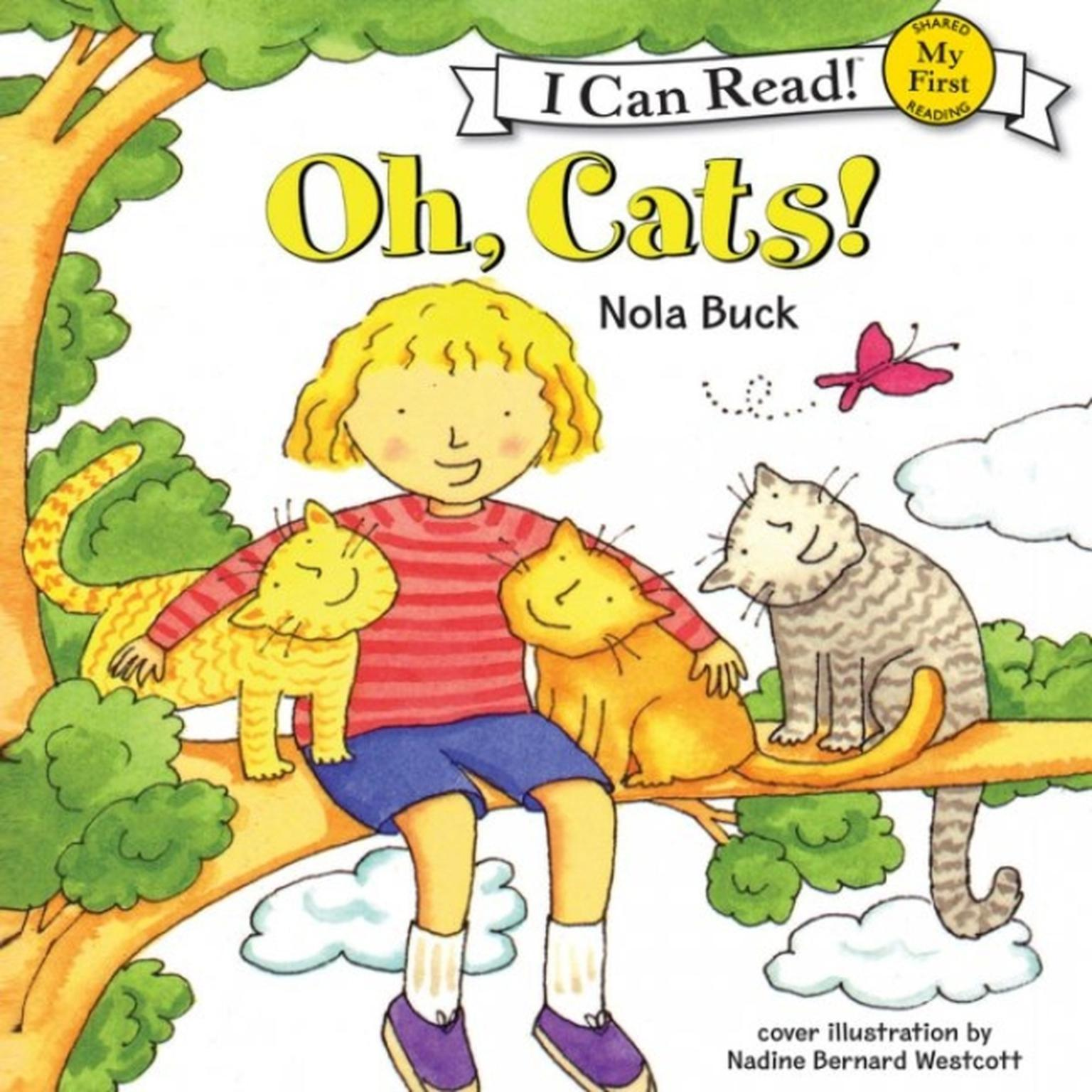 Printable Oh, Cats! Audiobook Cover Art