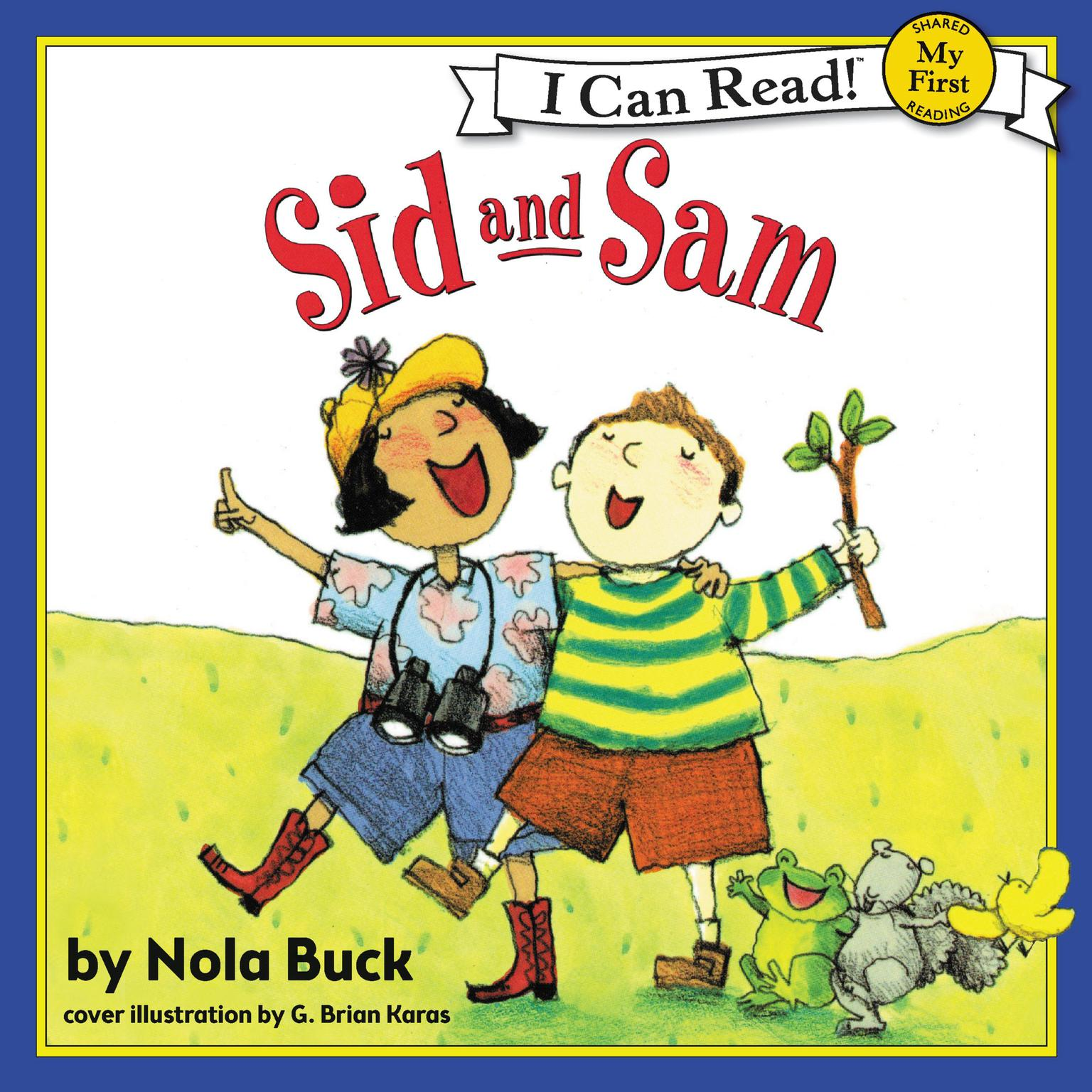 Printable Sid and Sam Audiobook Cover Art