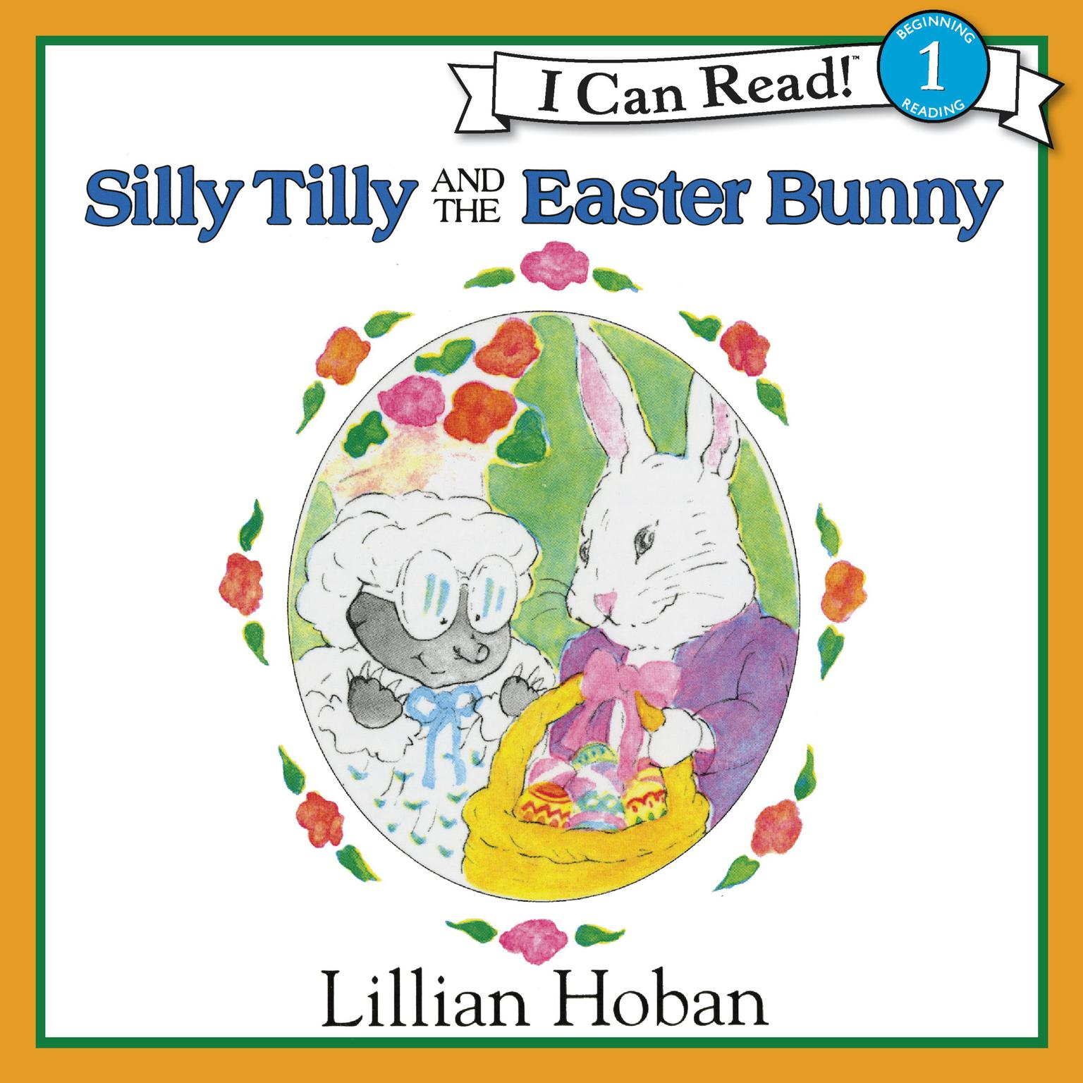 Printable Silly Tilly and the Easter Bunny Audiobook Cover Art