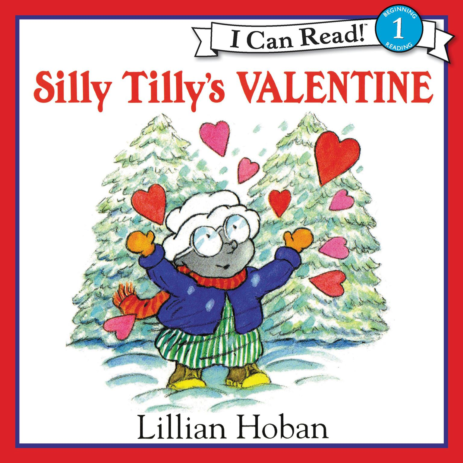 Printable Silly Tilly's Valentine Audiobook Cover Art
