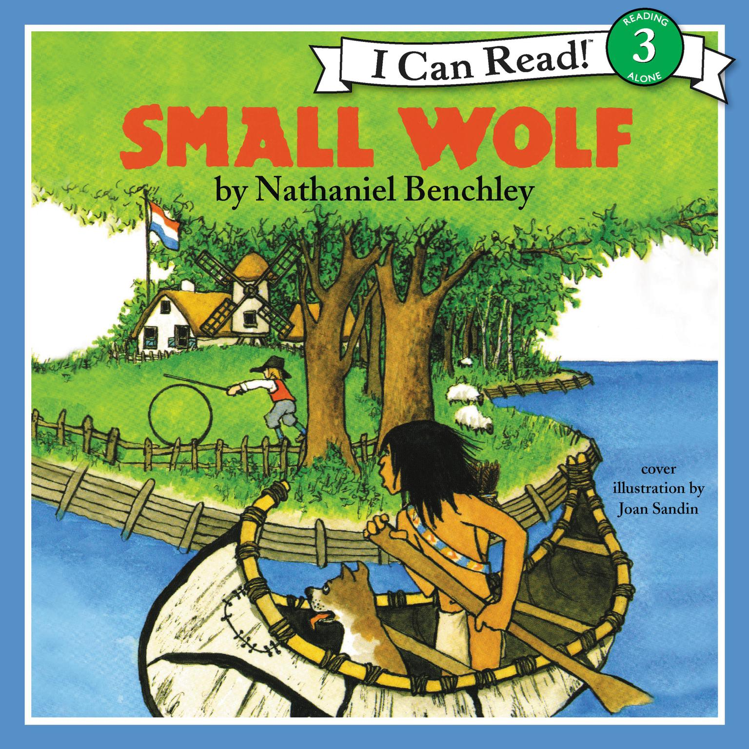 Printable Small Wolf Audiobook Cover Art
