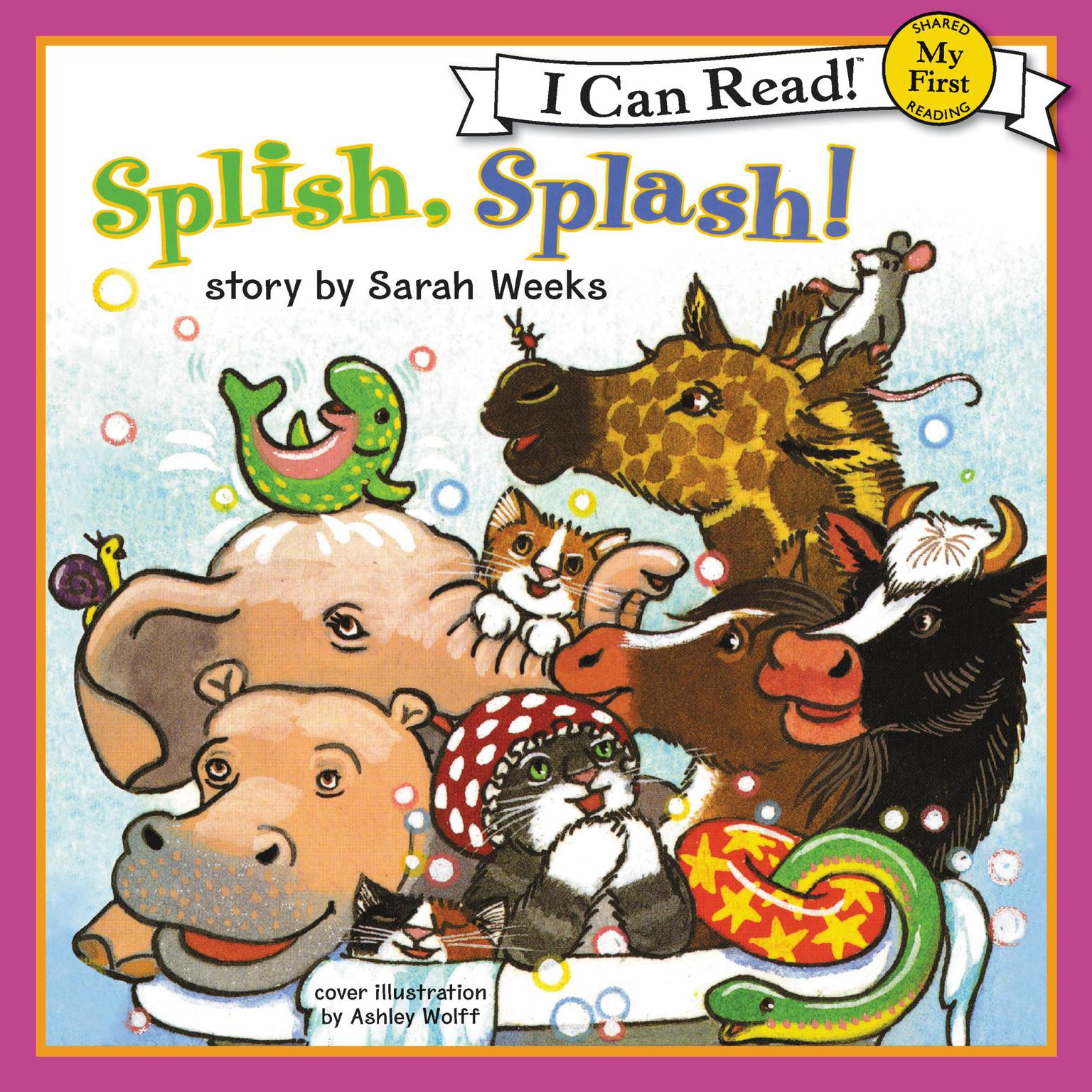 Printable Splish, Splash! Audiobook Cover Art