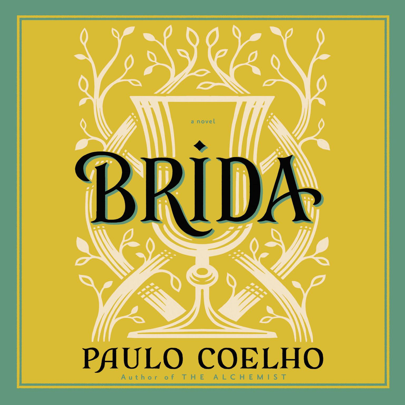 Printable Brida Audiobook Cover Art